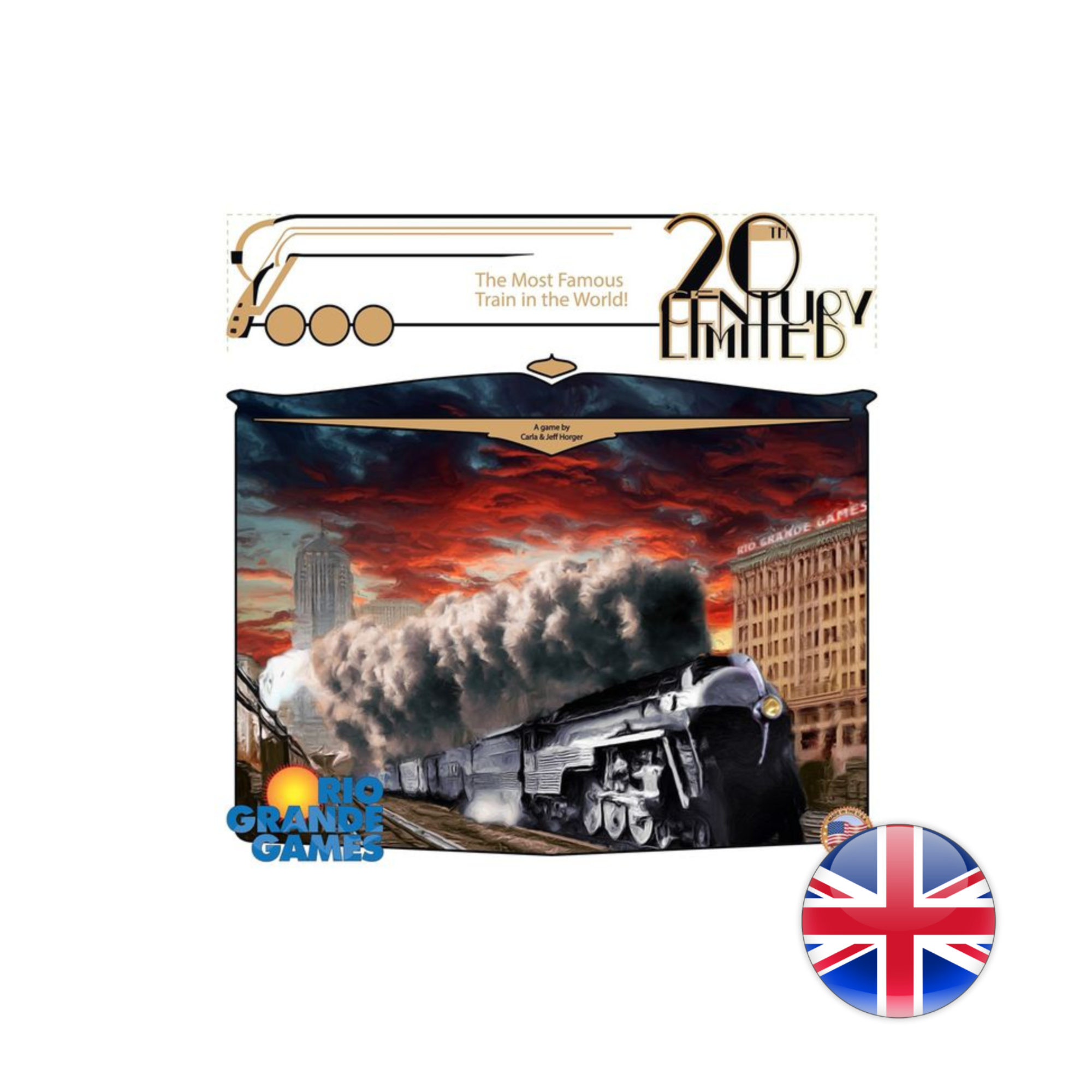 Rio Grande Games 20th Century Limited
