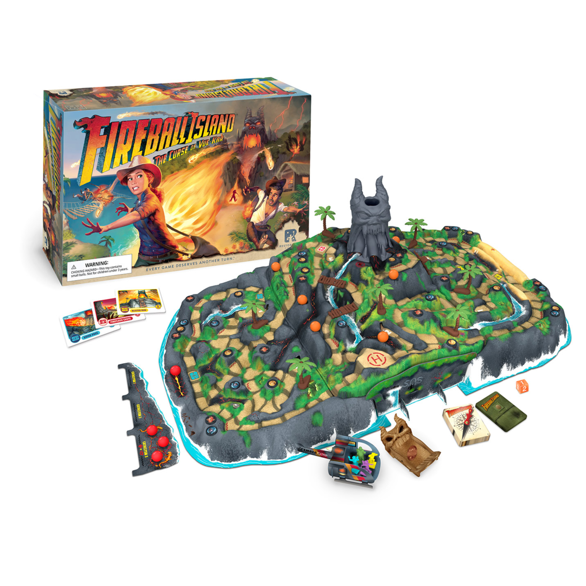 Fireball Island : The Curse of Vul-Kar