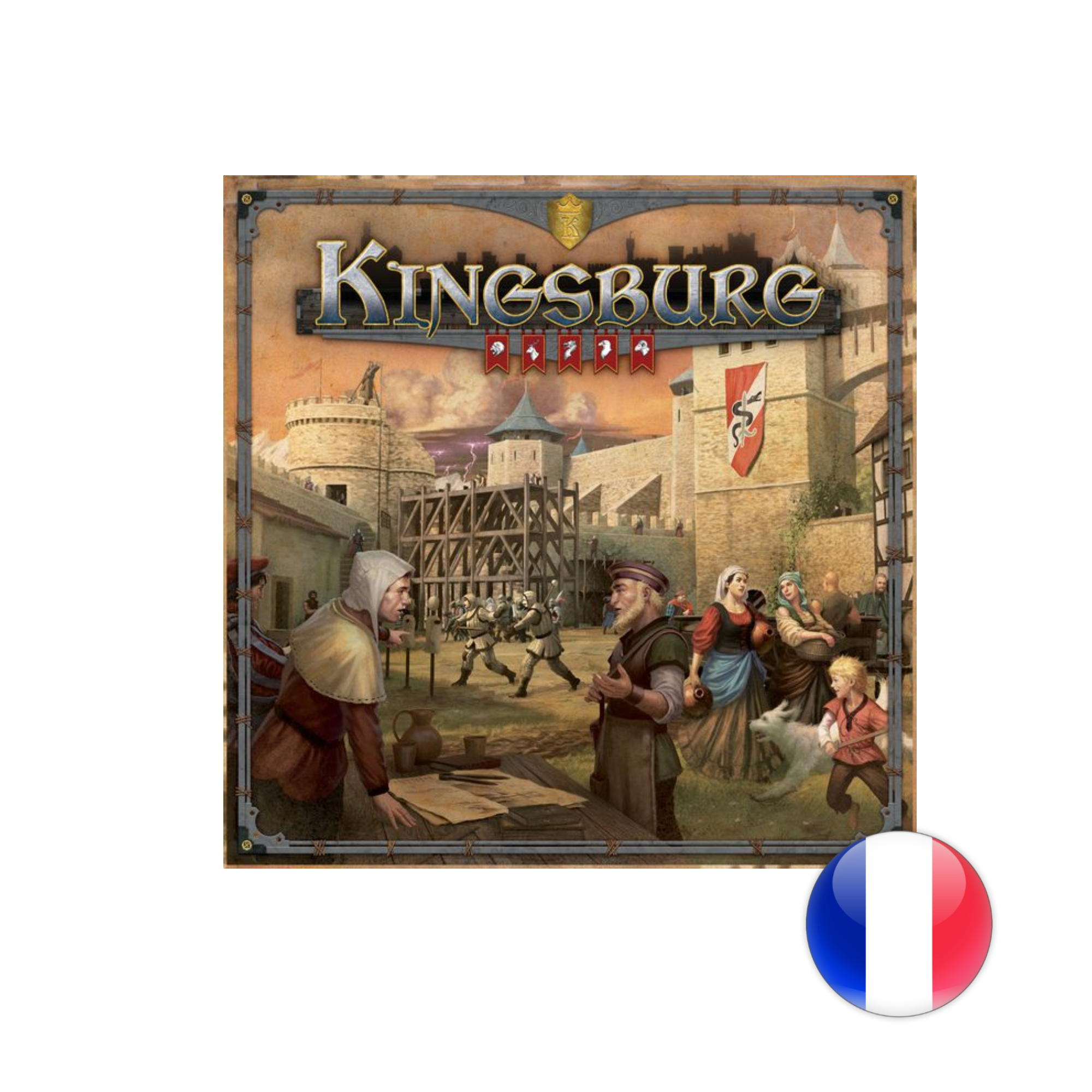Intrafin Games Kingsburg 2e édition VF