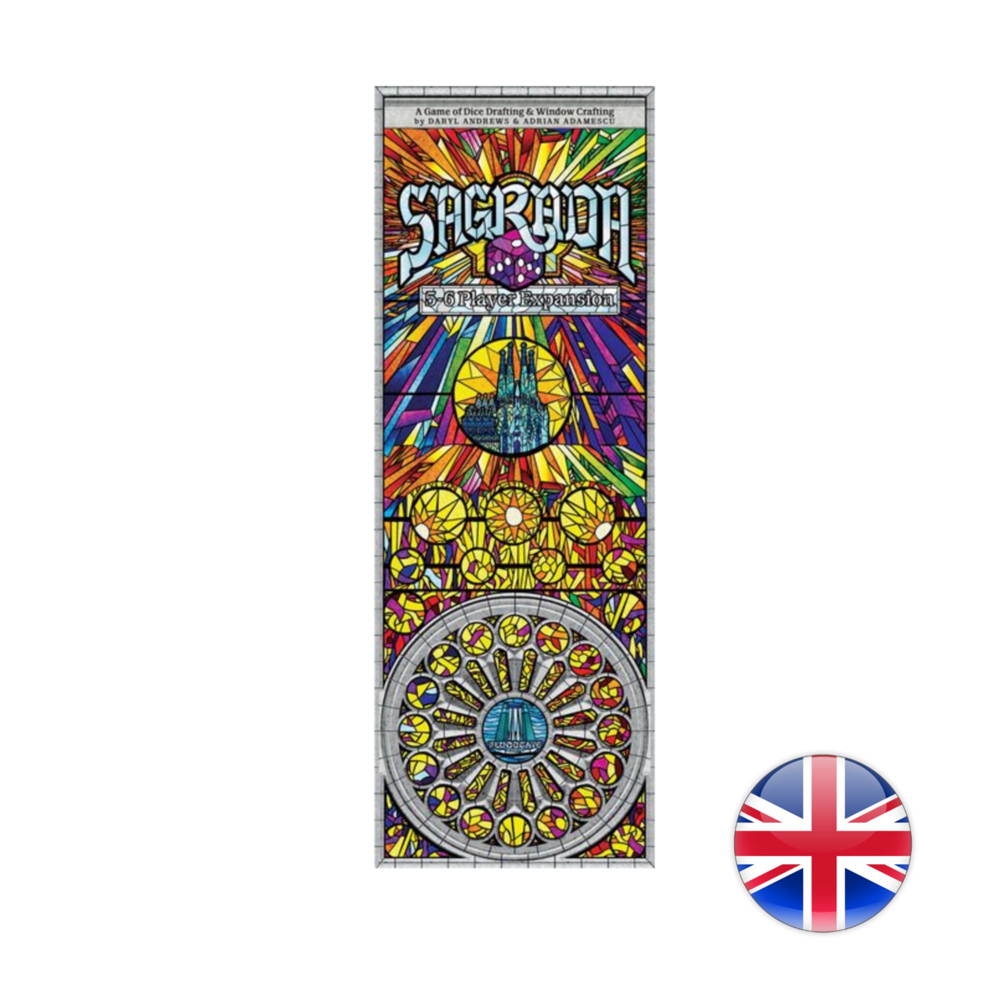 Floodgate Games Sagrada: 5 & 6 Players Expansion