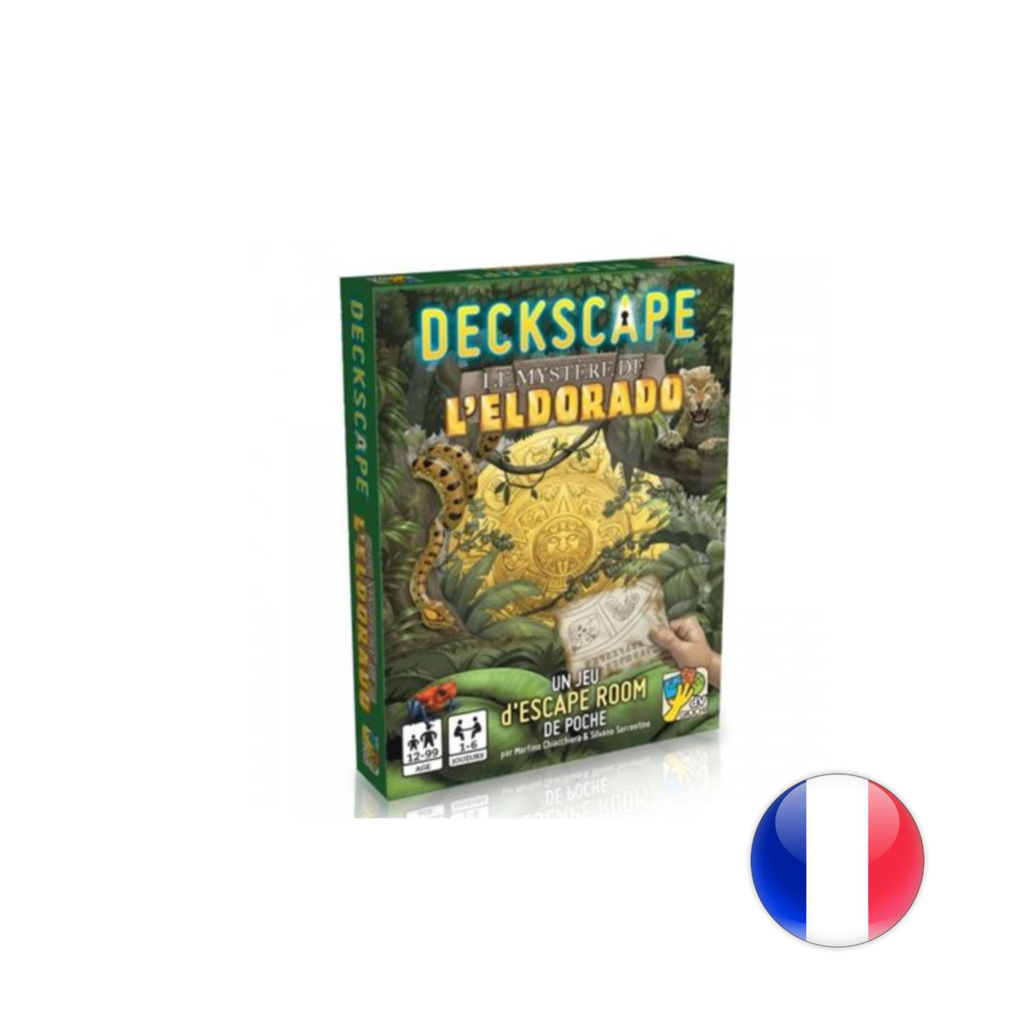 DVG Deckscape 4: Le mystère d'El Dorado