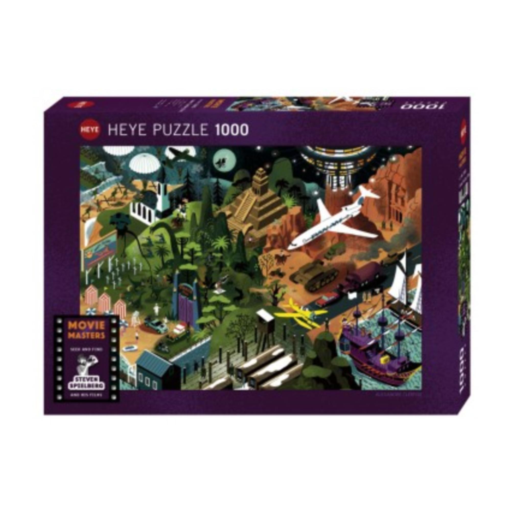Heye Puzzle 1000: Steven Spielberg Films