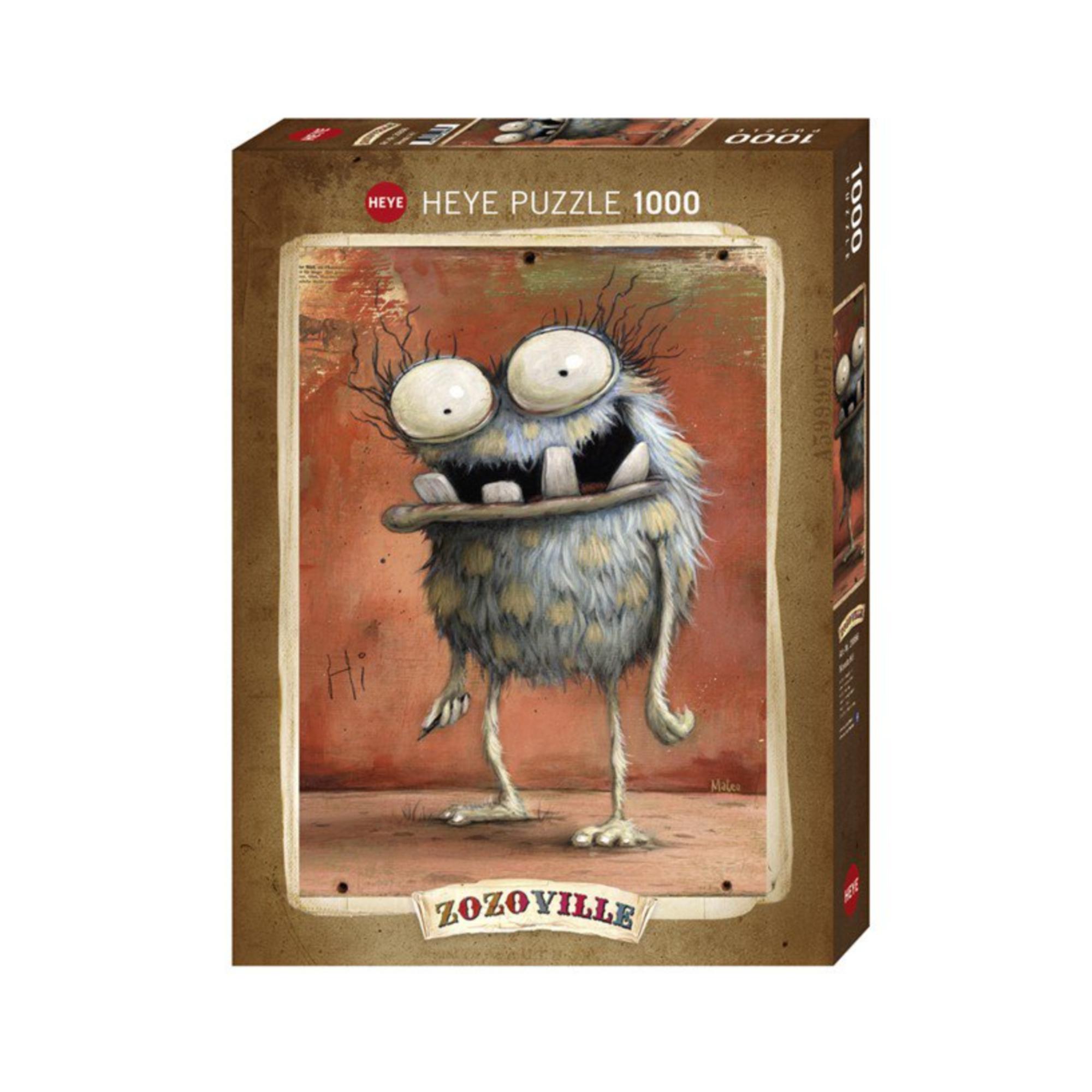 Heye Puzzle 1000: Monsta Hi, Zozoville