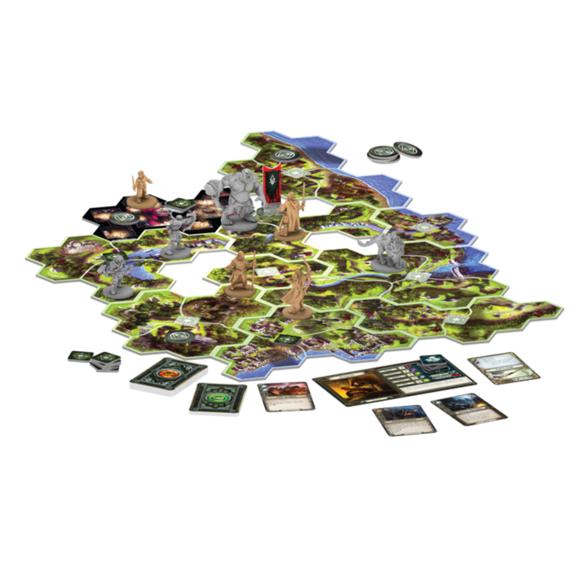 Fantasy Flight Games The Lord of the Rings: Journeys in Middle-earth