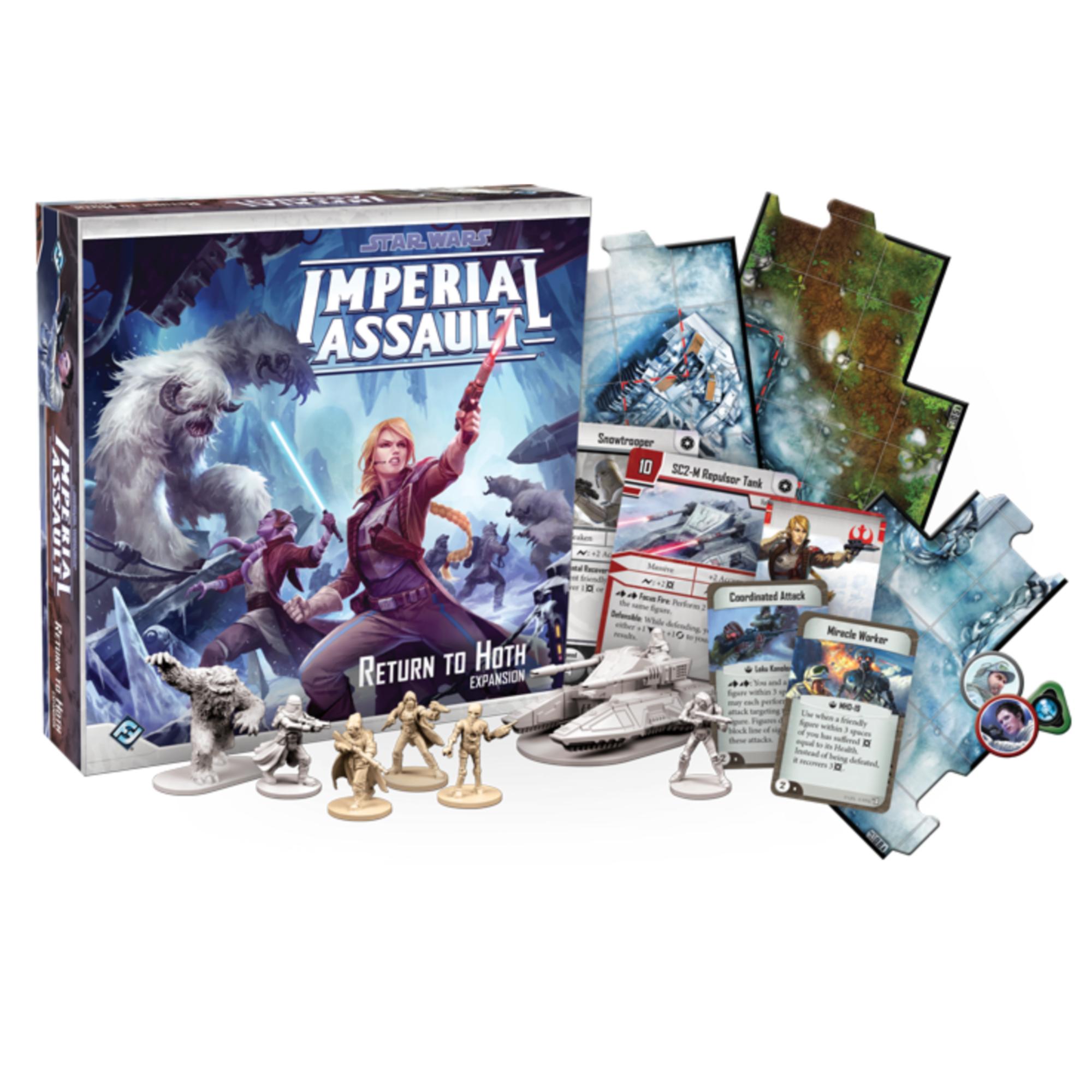 Fantasy Flight Games Star Wars Imperial Assault: Return to Hoth