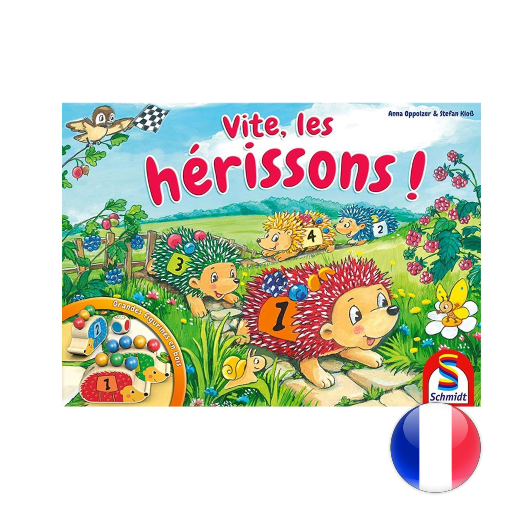 Schmidt Vite, les Herissons!