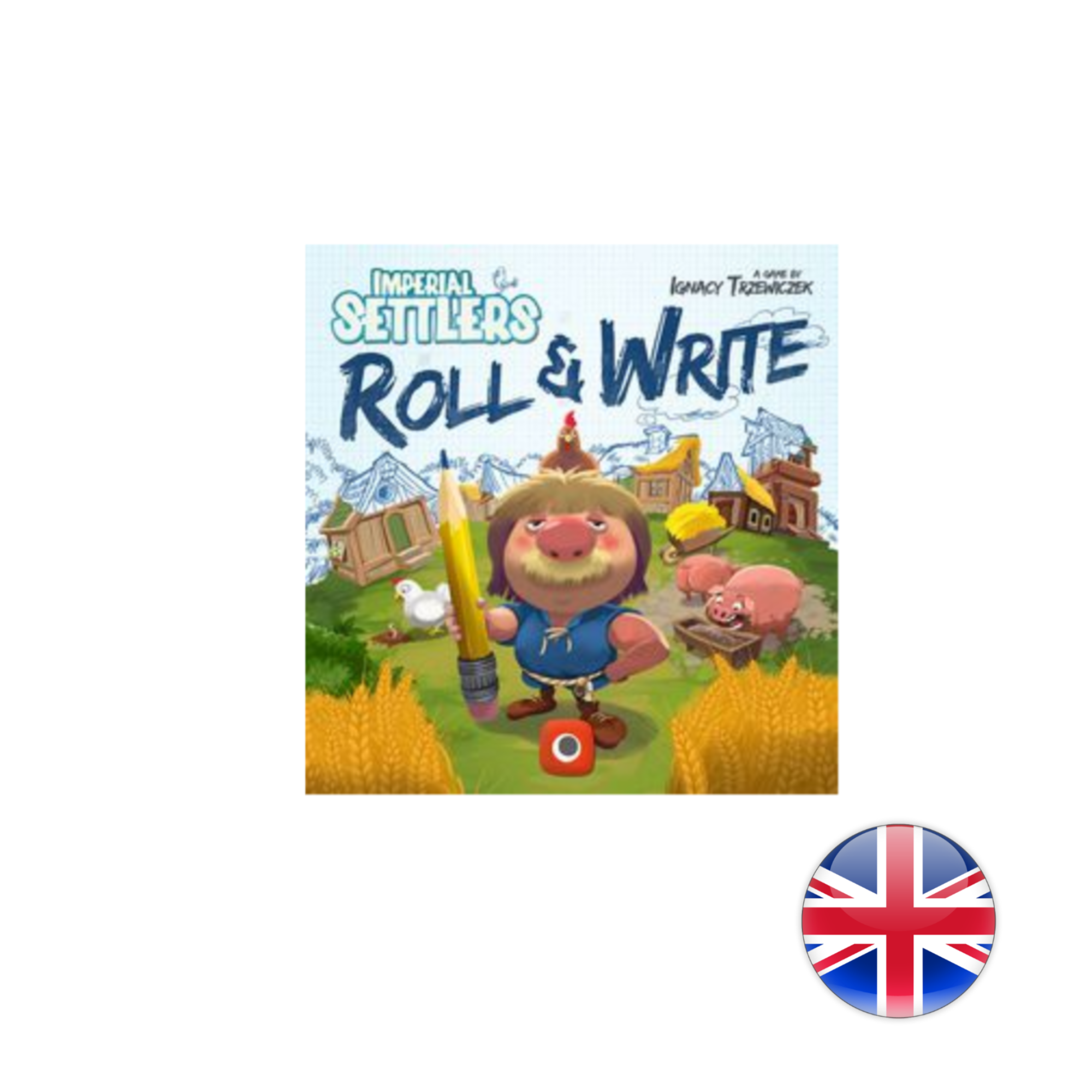 Portal Games Imperial Settlers: Roll and Write