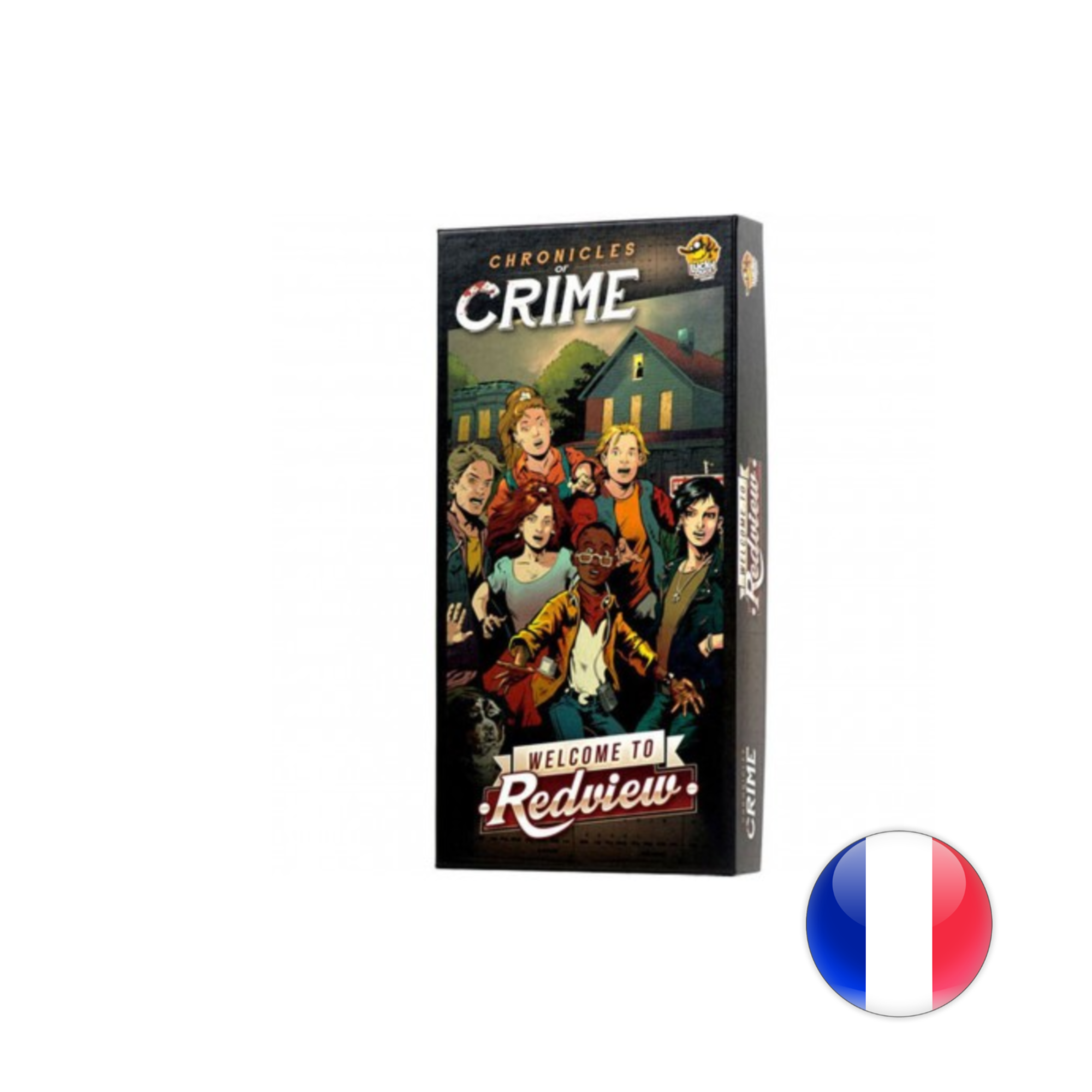 Lucky Duck Games Chronicles of crime - Welcome to Redview VF