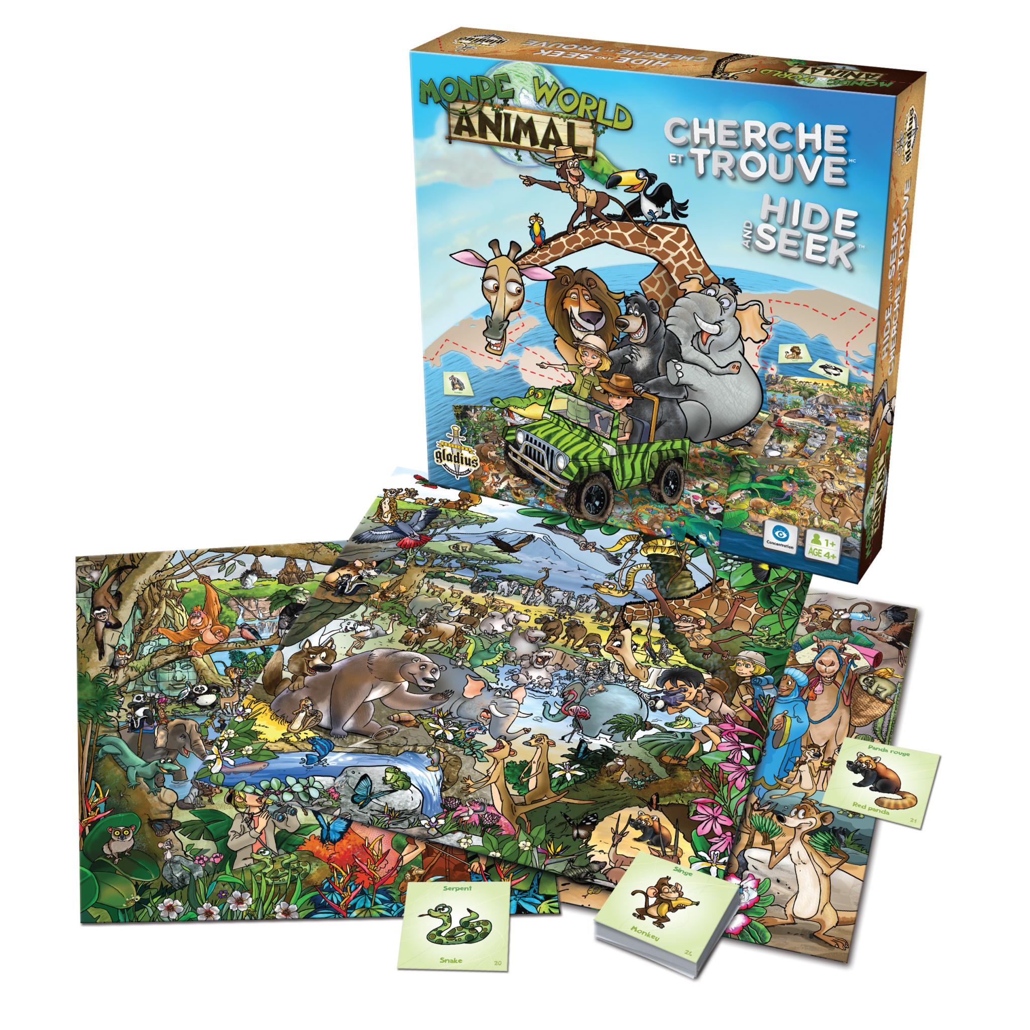 Gladius Cherche et trouve : Monde animal
