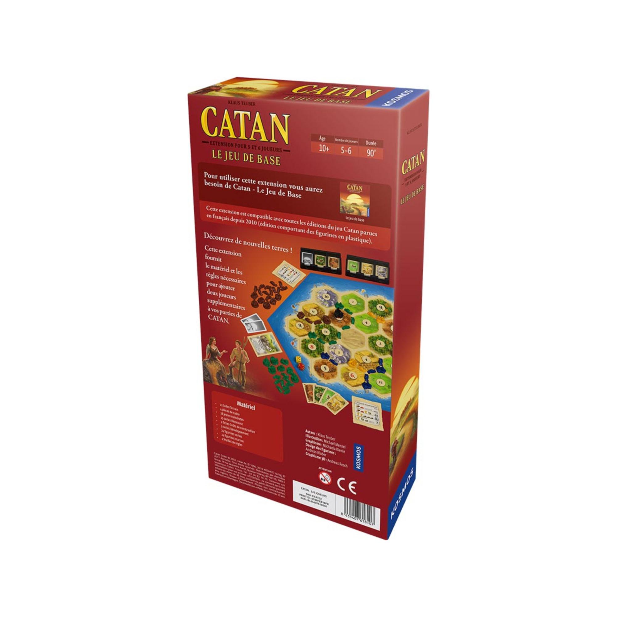 Filosofia Catan - Ext. - 5/6 joueurs