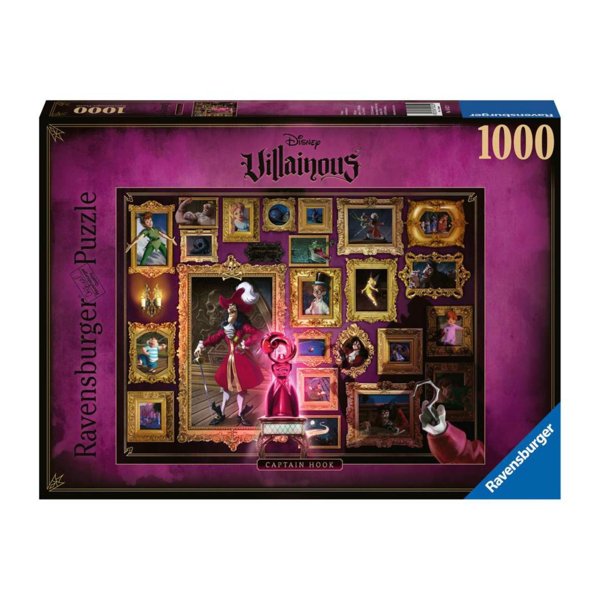Puzzle 1000: Disney Villainous Capitaine Crochet