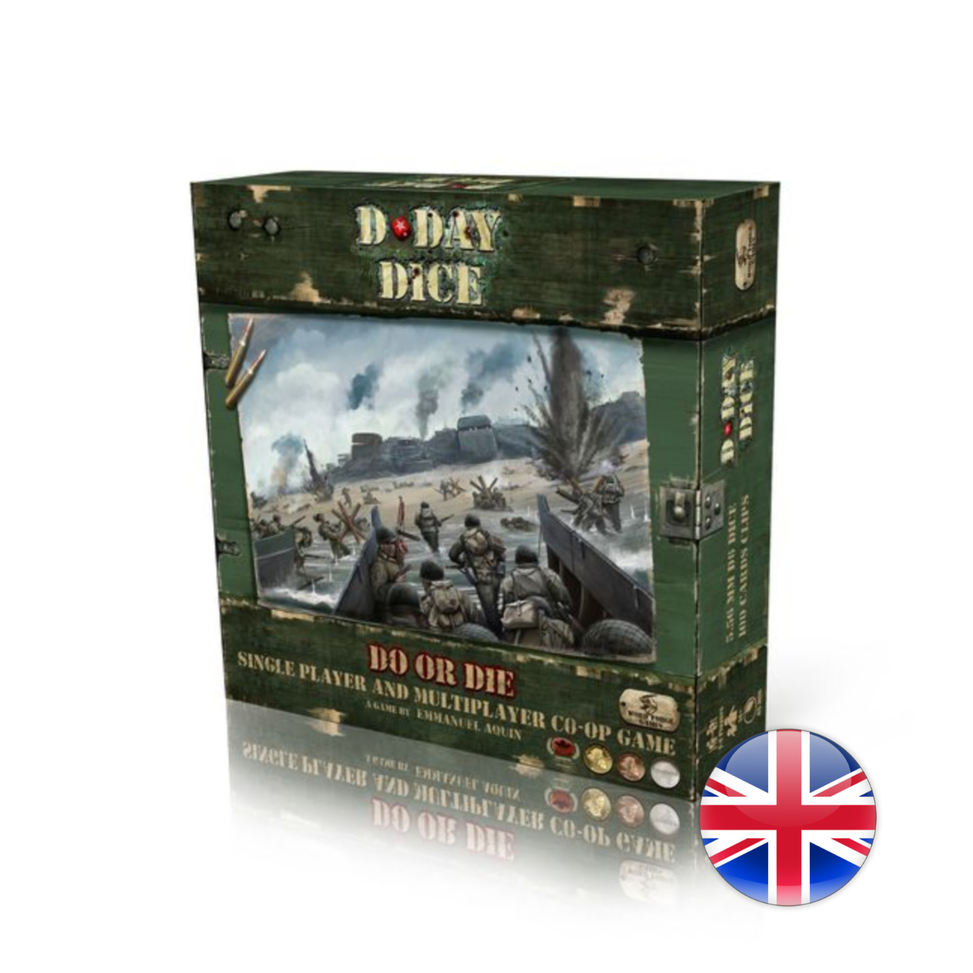 Word Forge Games D-Day Dice 2nd Edition