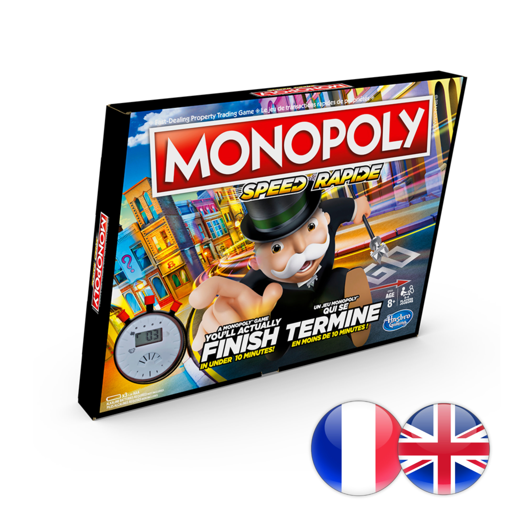 Hasbro Games Jeu Monopoly Speed (multi)