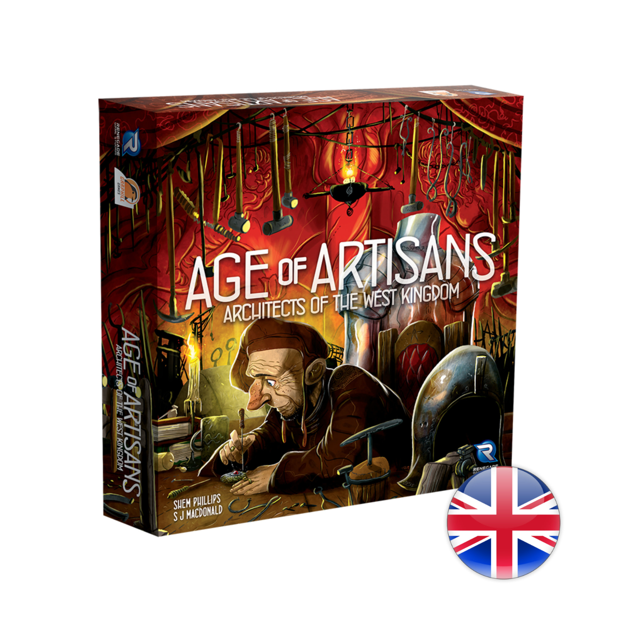 Renegade Game Studios Architects of the West Kingdom Age of Artisans