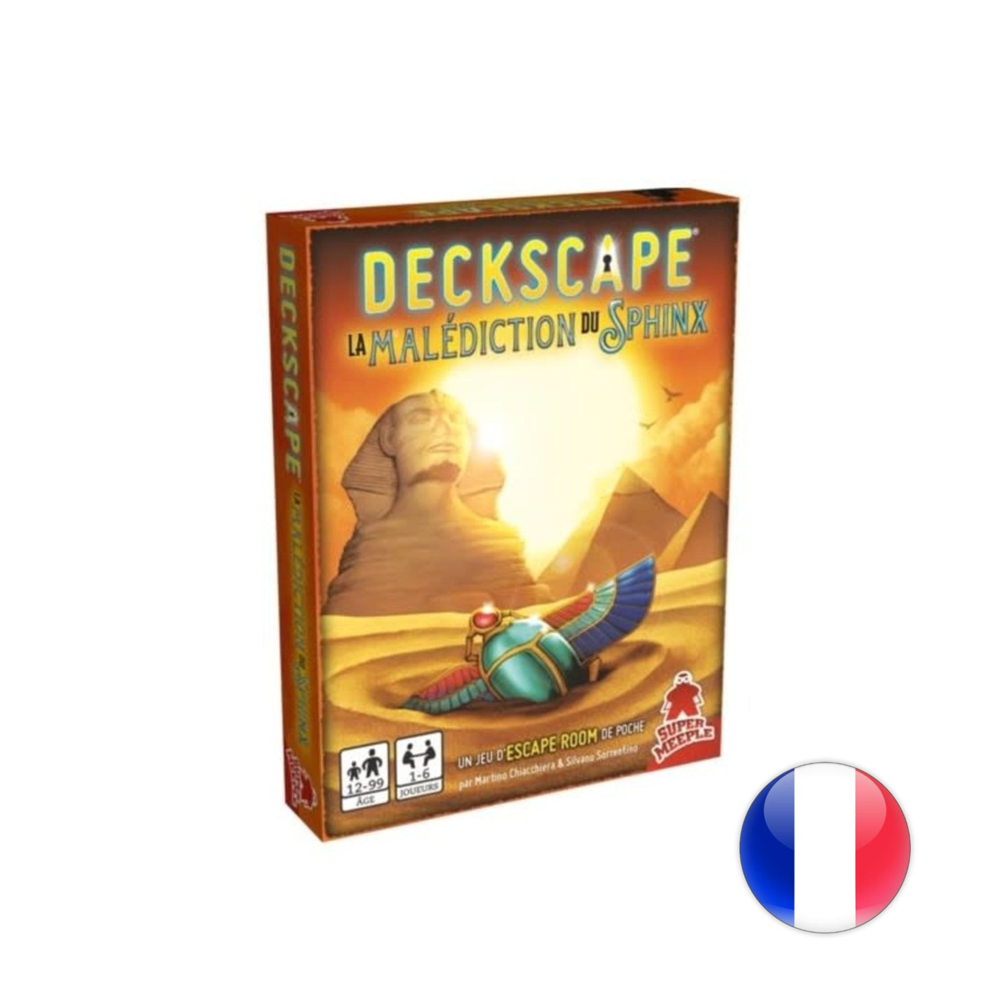 daVinci Editrice Deckscape 6 : La malédiction du Sphinx
