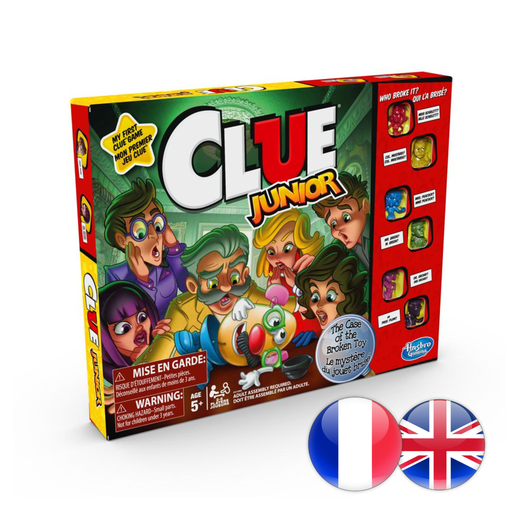 Hasbro Games Clue Junior (multi)
