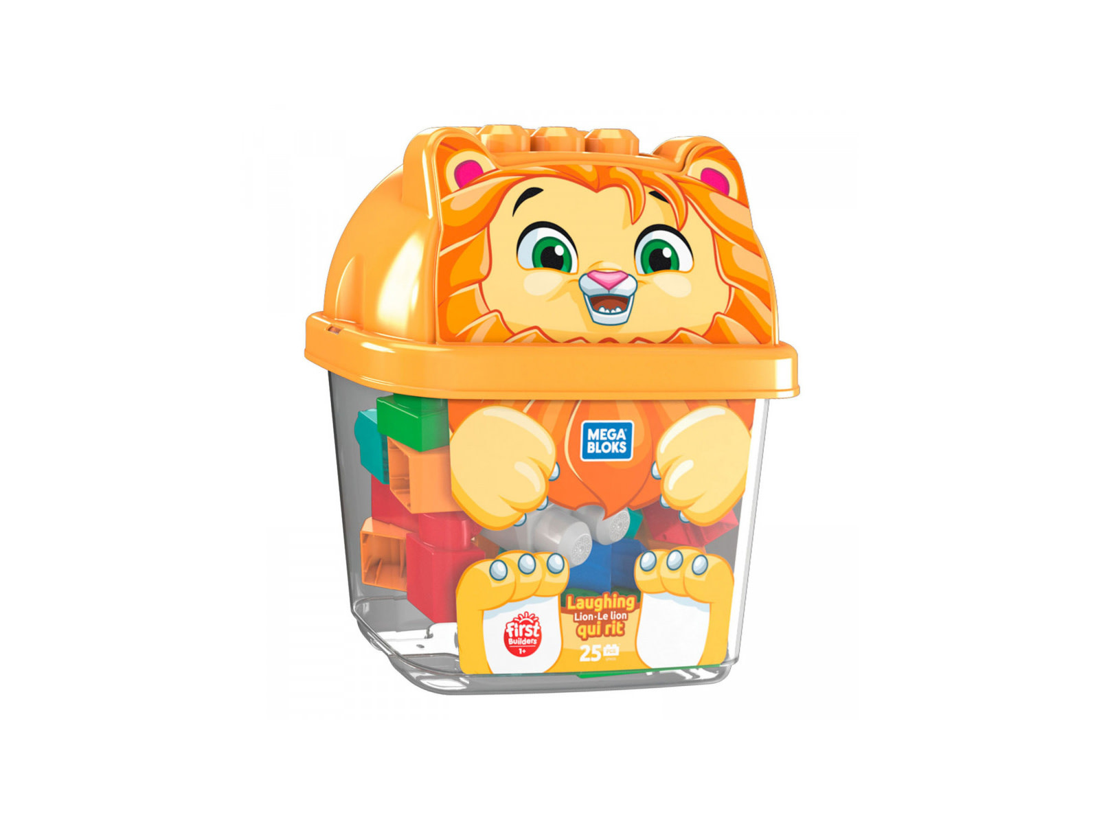 Mega Bloks First Builders - Seau animaux - Le lion qui rit