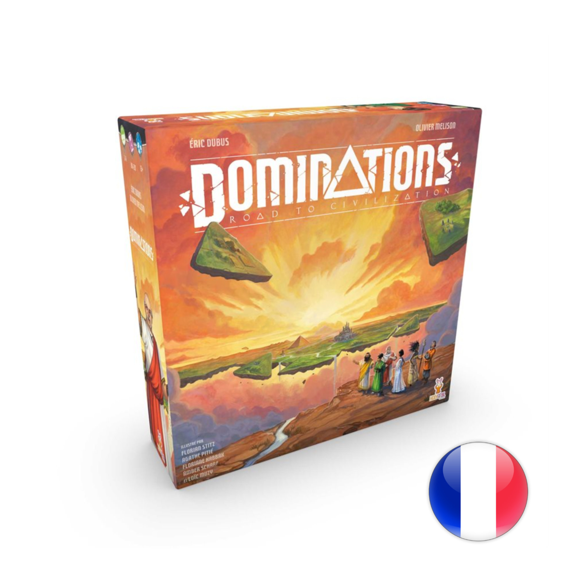 Holy Grail Dominations : Road to Civilization VF