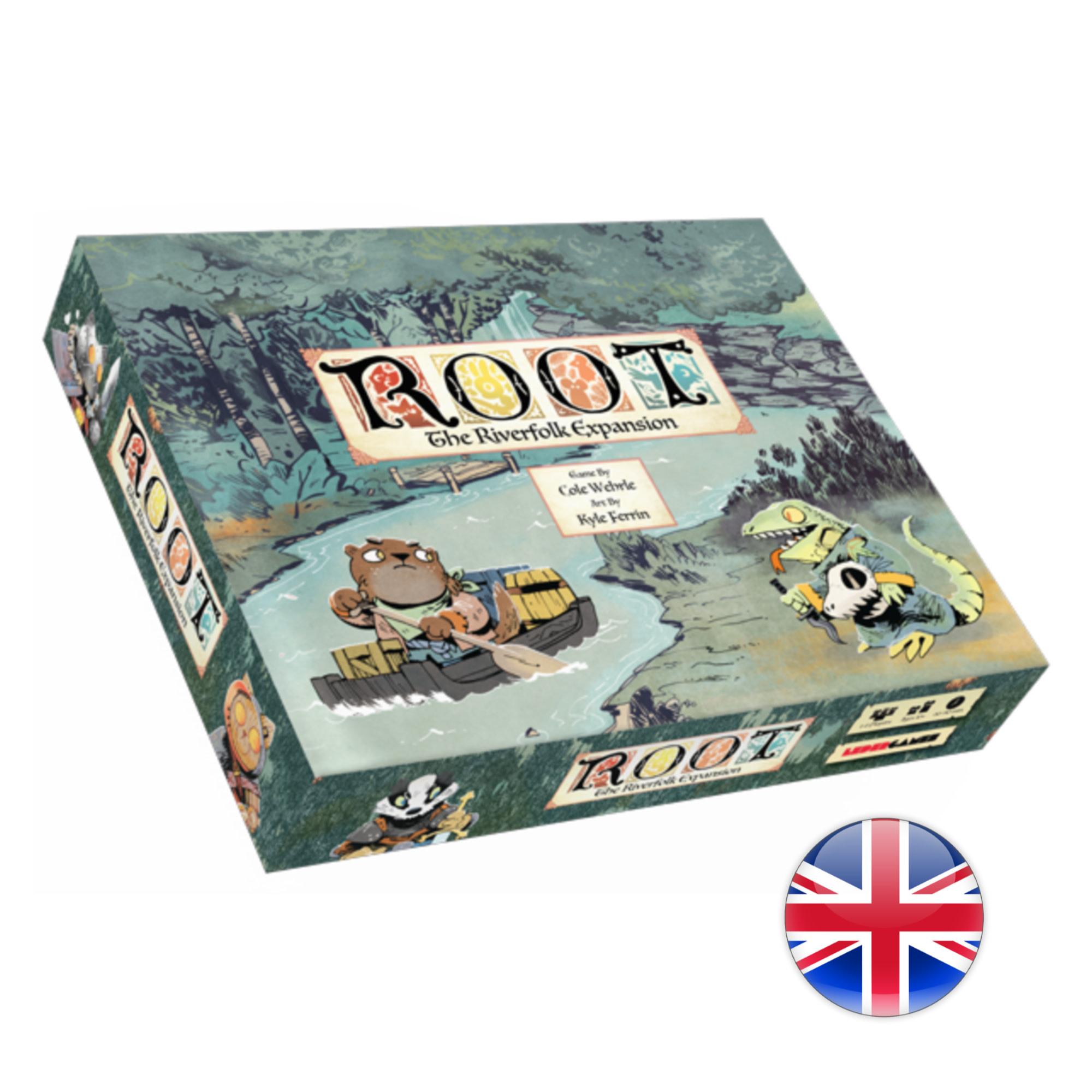 Leder Games Root - The Riverfolk Expansion