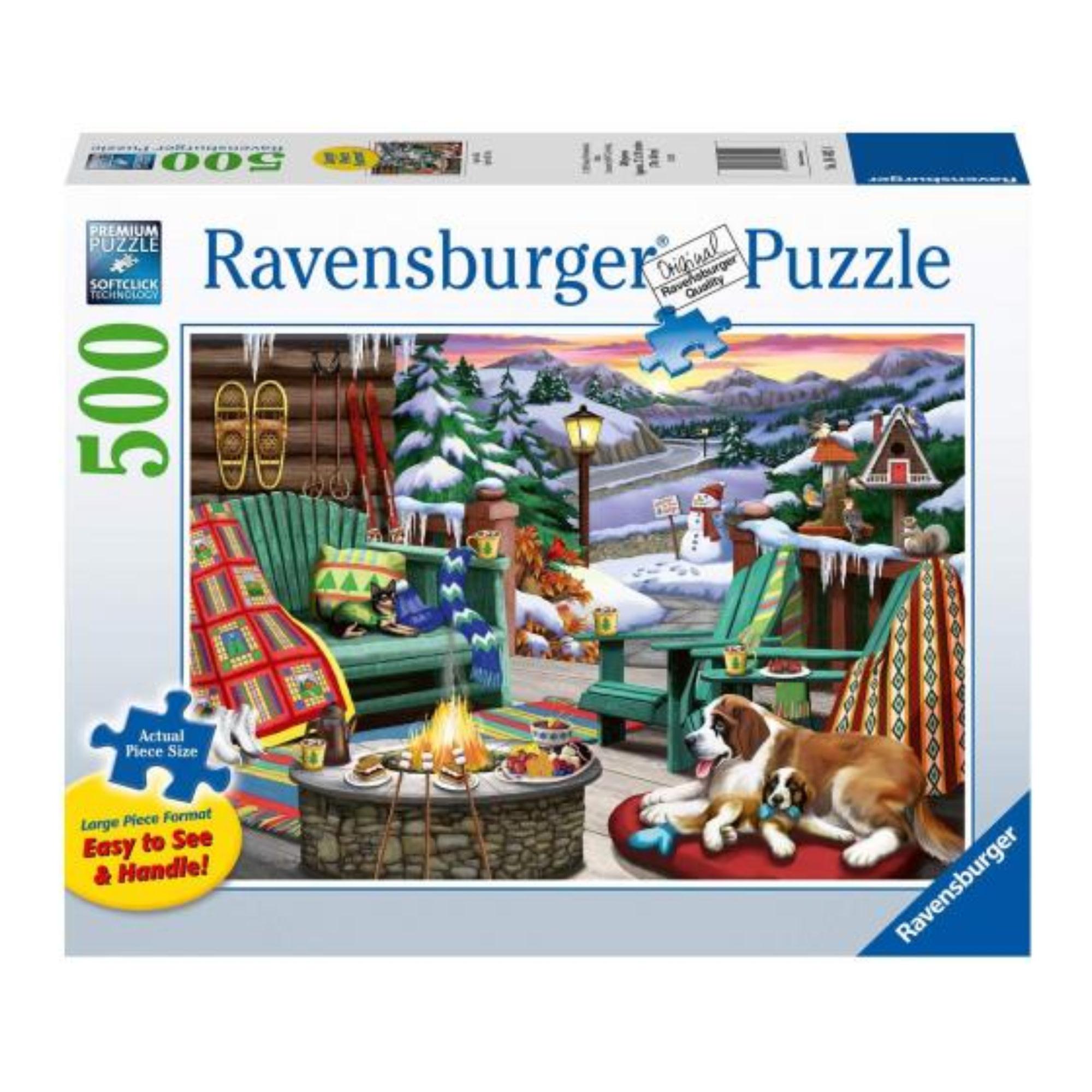 Ravensburger Puzzle 500: Après-ski / Large