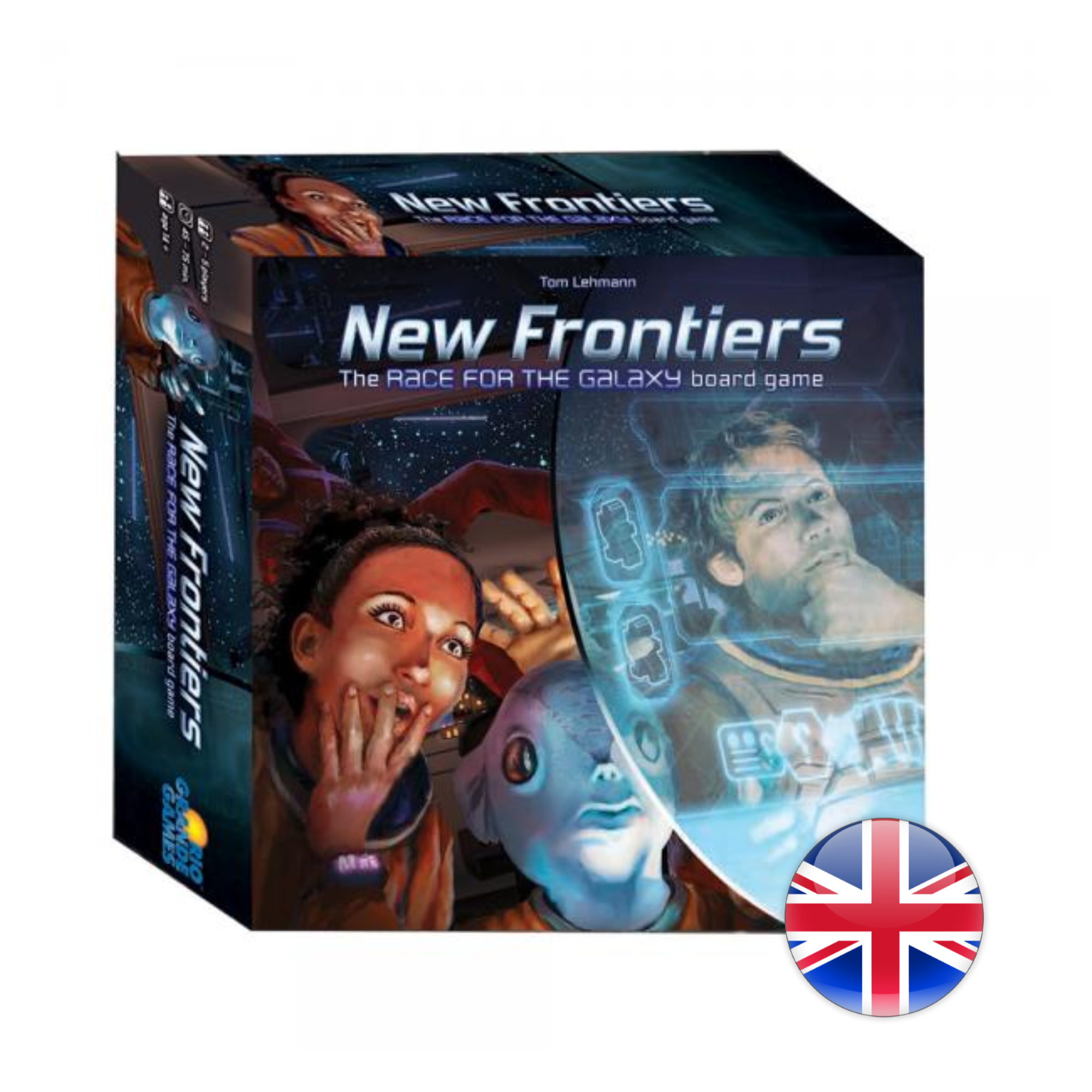 Rio Grande Games New Frontiers: The Race for the Galaxy