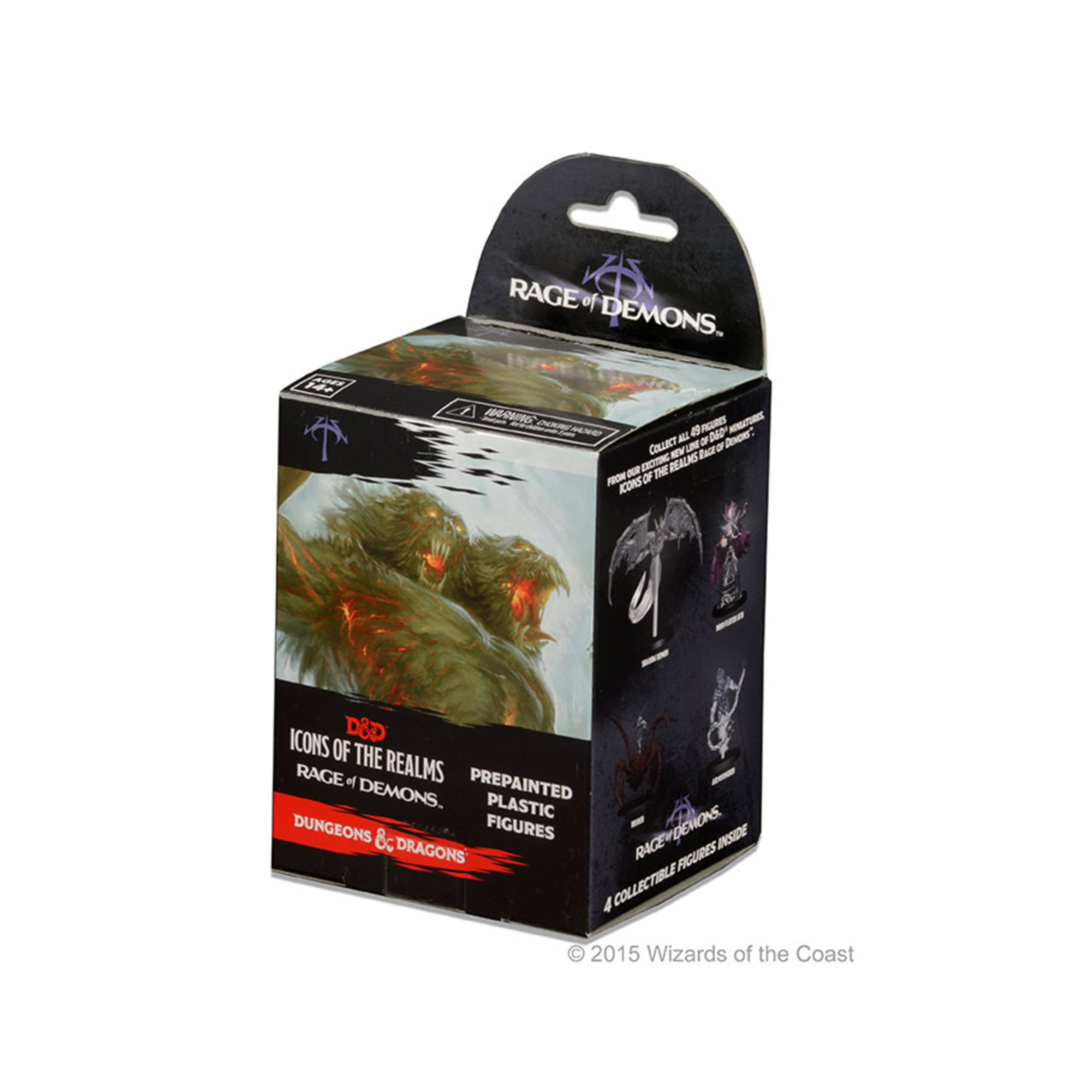 Wizkids Games D&D Fantasy Miniatures: Icons of the Realms Set 3 Rage of Demons Standard Booster