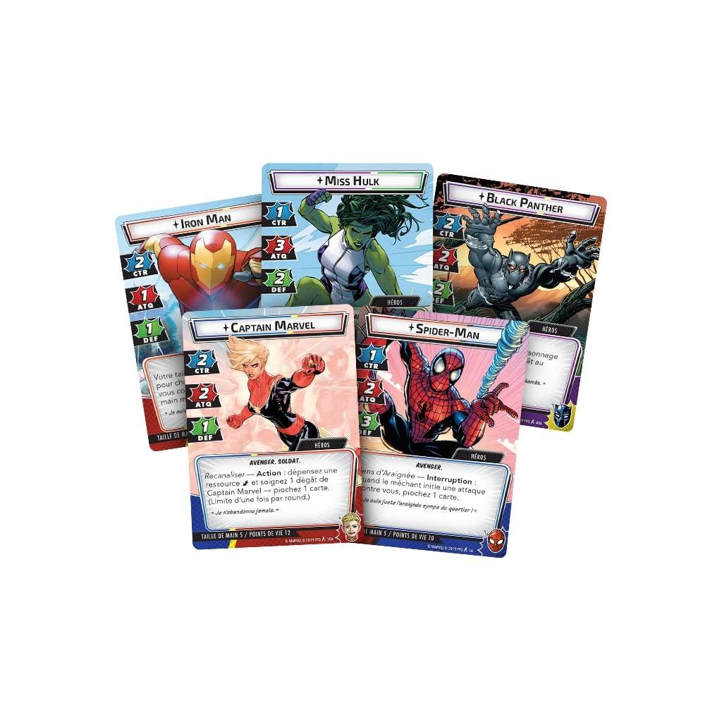 Fantasy Flight Games Marvel Champions Le jeu de cartes VF