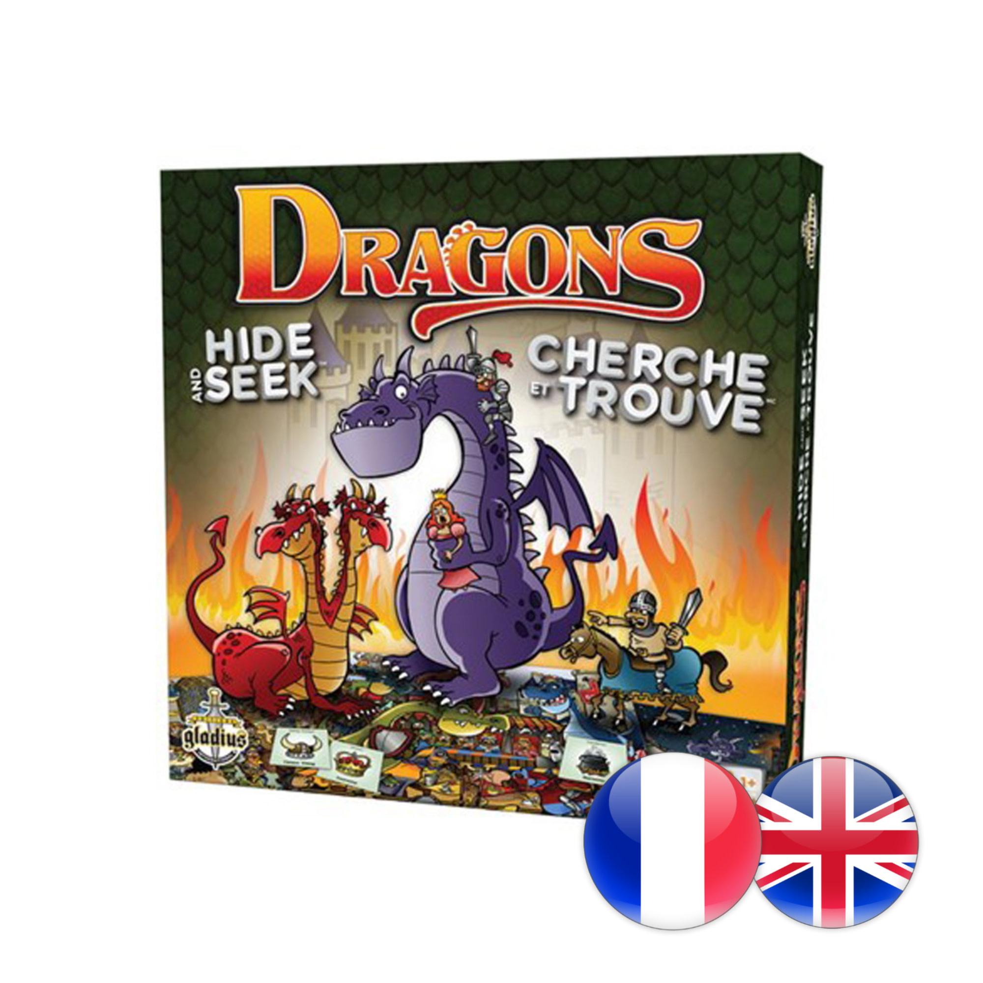 Gladius Cherche & Trouve Chevaliers & Dragons