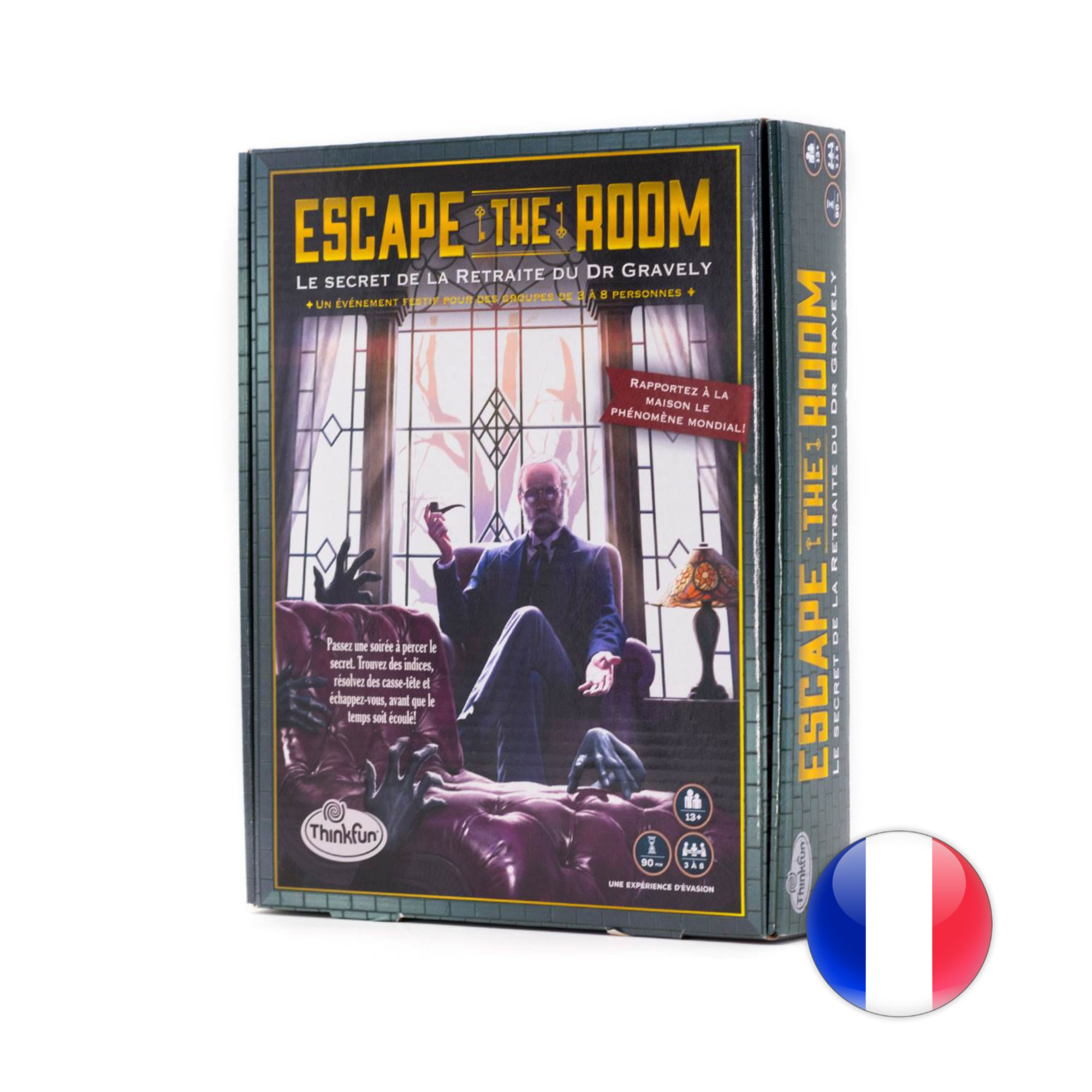 Thinkfun Escape the Room - Secret of Dr Gravely's Retreat VF