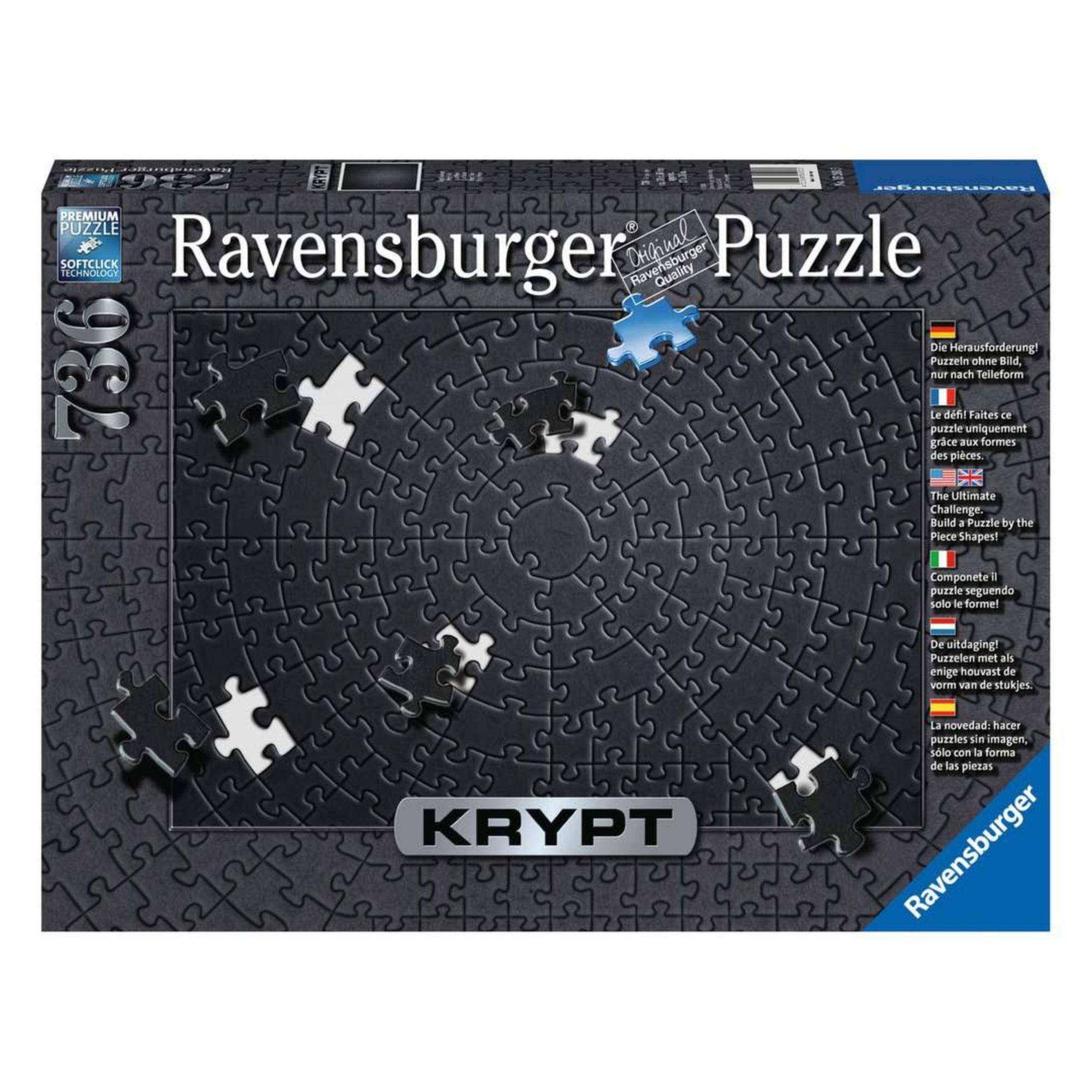 Ravensburger Puzzle 736 : Krypt Noir