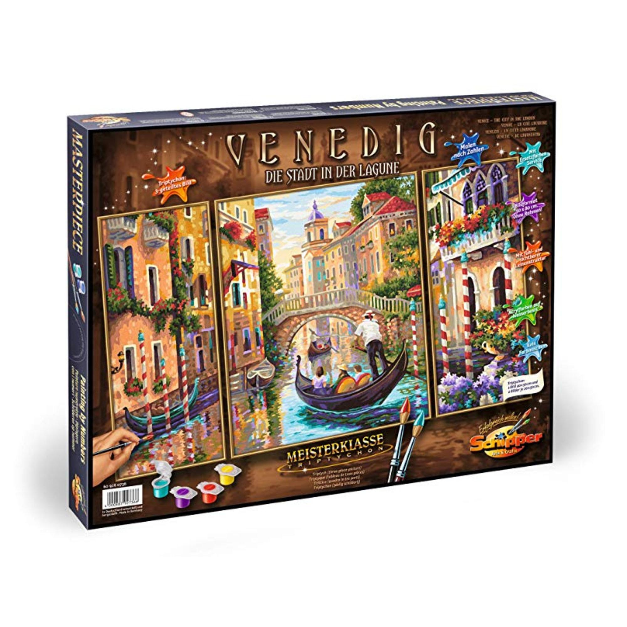 Schipper Premium Peinture à numéros: Venice - The City in  the Lagoon