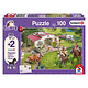 Schmidt Puzzle 100: Schleich Horse Ride into  the Countryside
