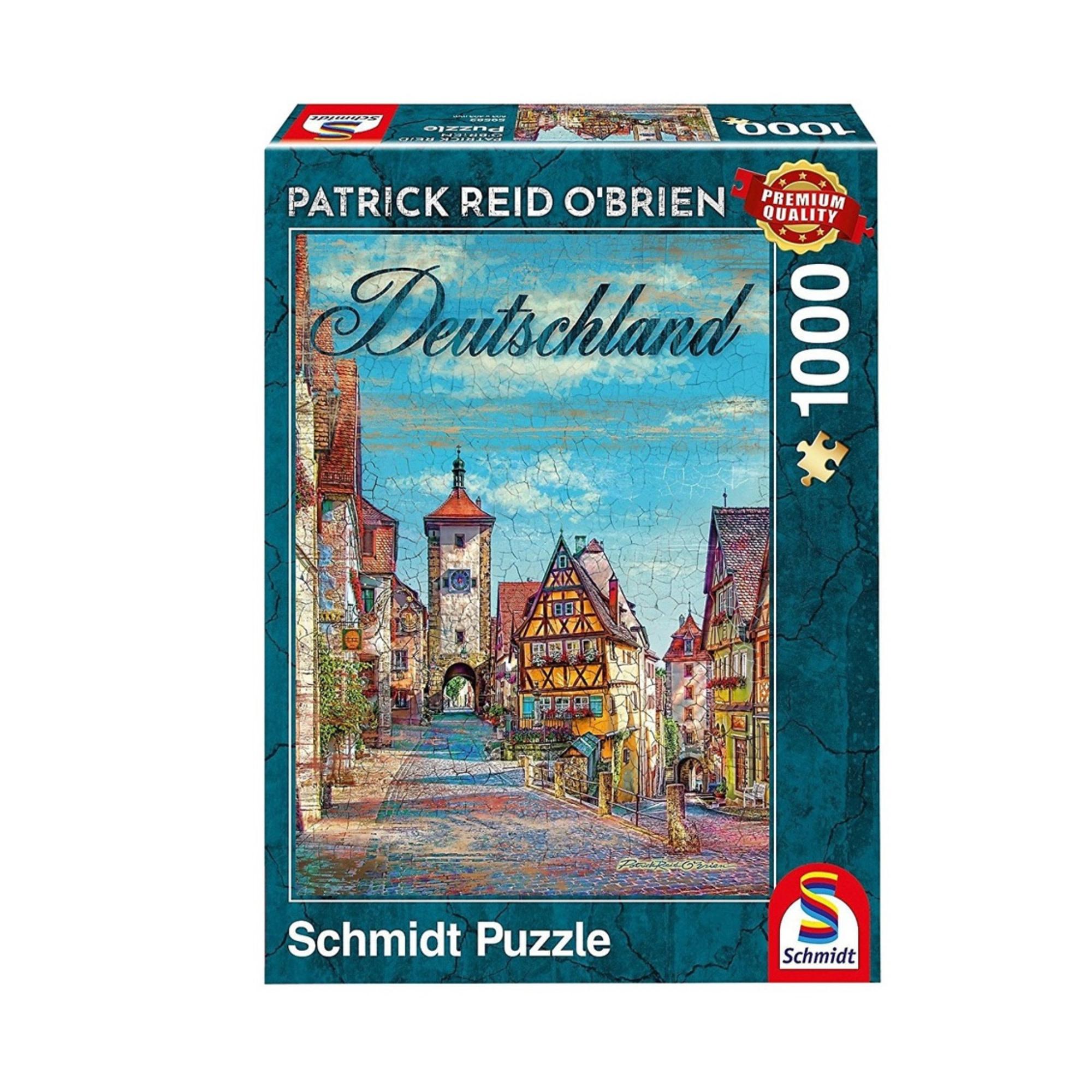 Schmidt Puzzle 1000: Germany
