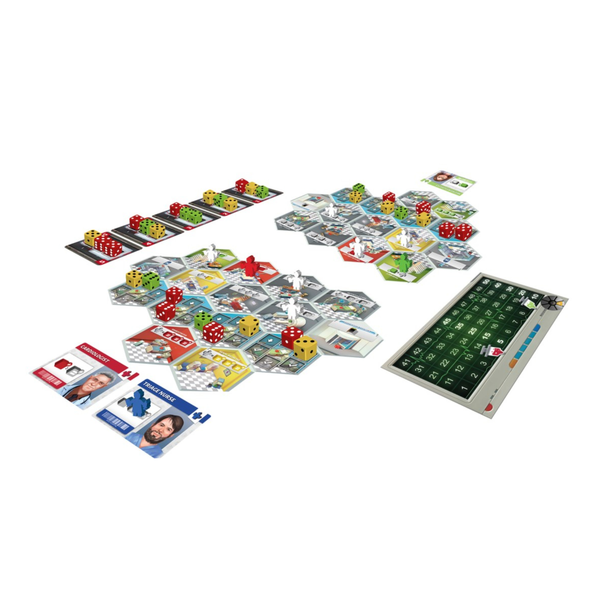Super Meeple Dice Hospital VF