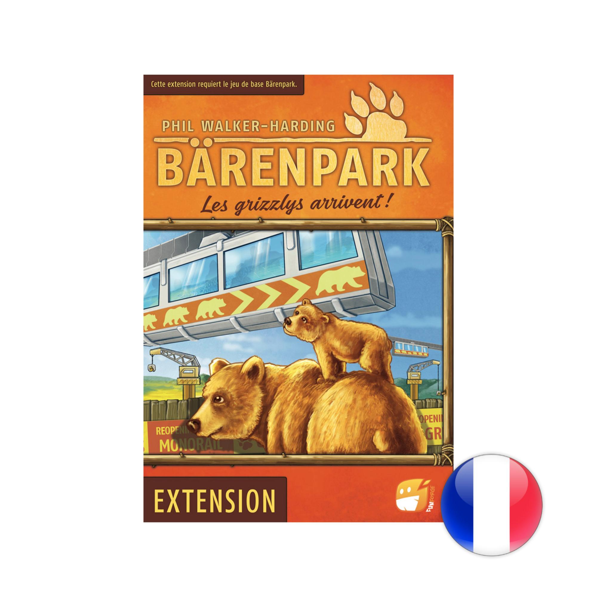 Funforge Barenpark: ext. les grizzlis arrivent VF