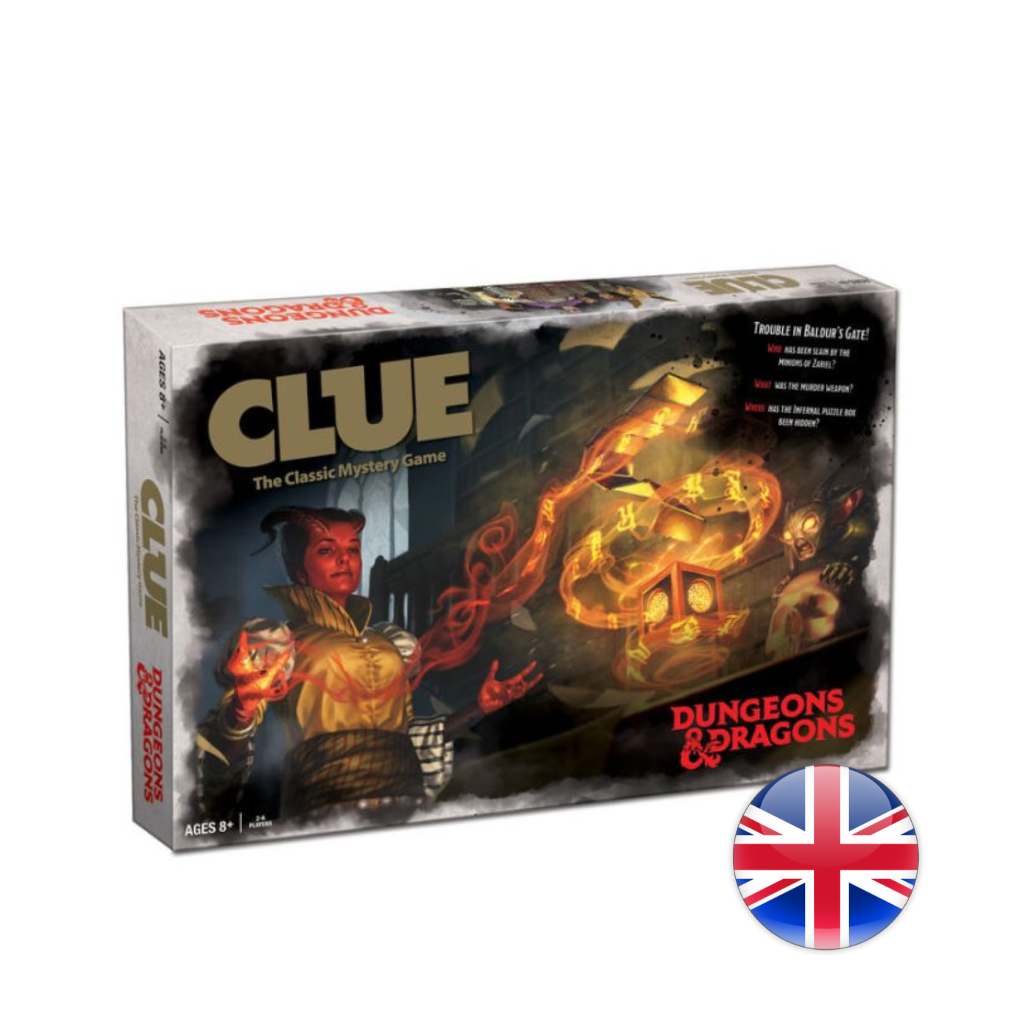 USAopoly D&D Dungeons & Dragons: Clue