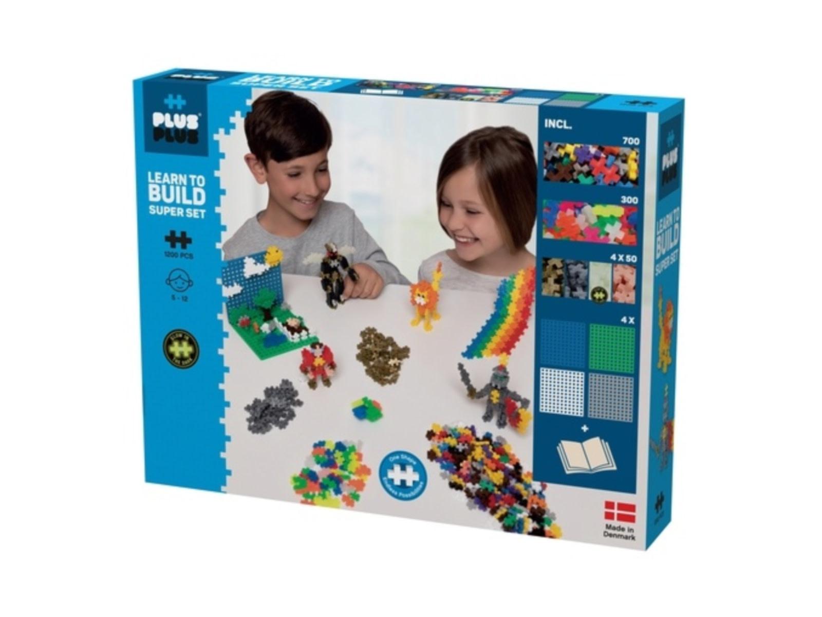 Plus Plus Plus Plus Learn to Build - Mega Set 1200 Basic