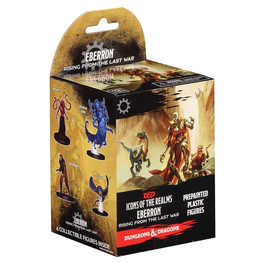 Wizkids Games D&D Dungeons & Dragons: Icons 14 - Eberron Rising From Last War Booster