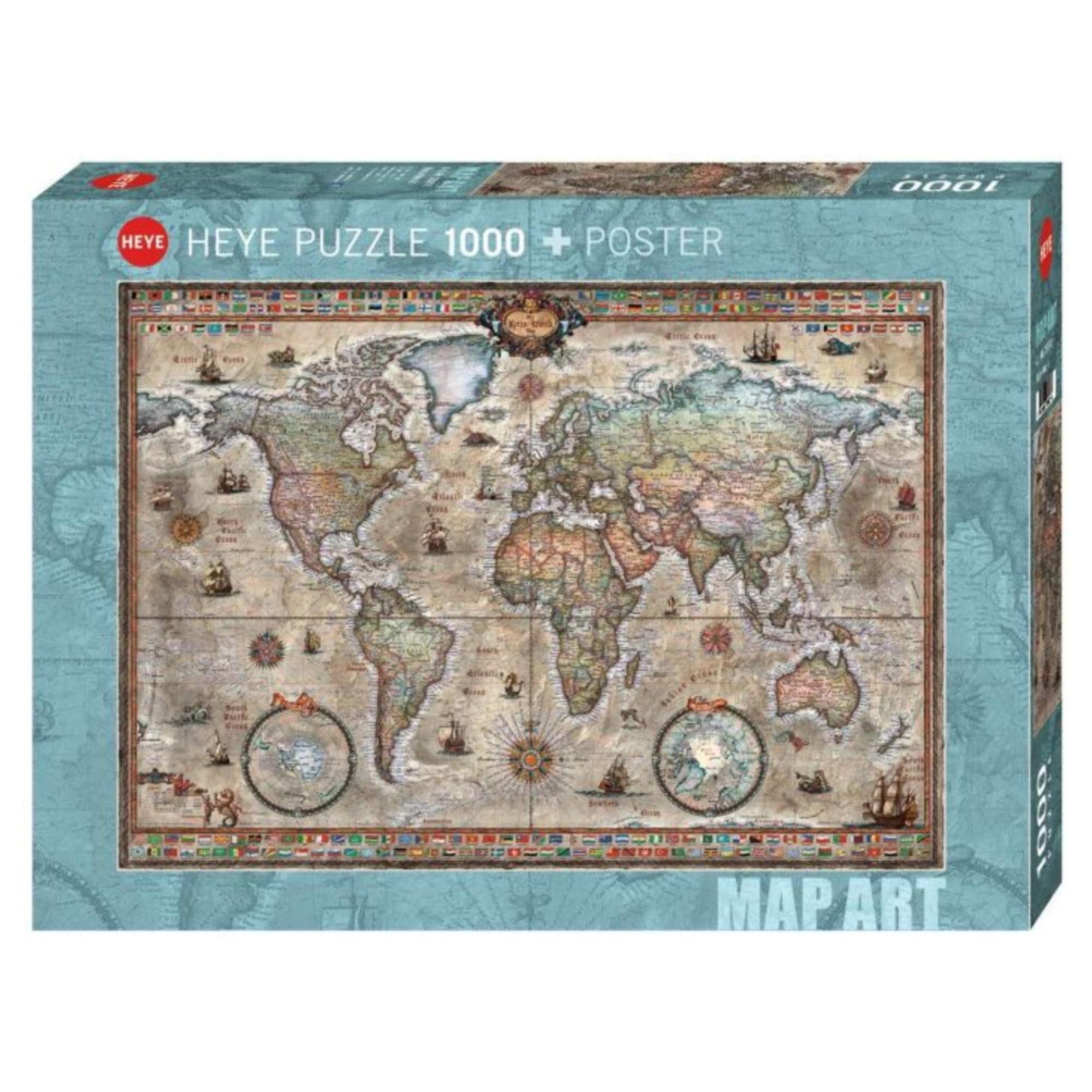 Heye Puzzle 1000: Retro World