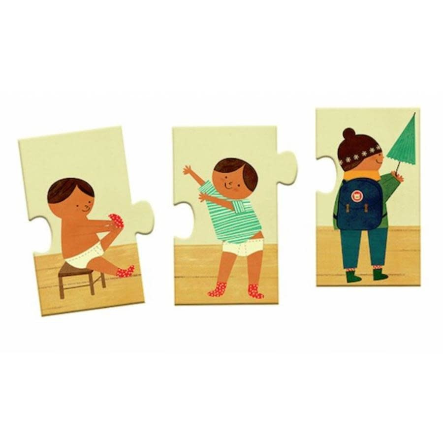 Djeco Puzzle Duo / Je m'habille