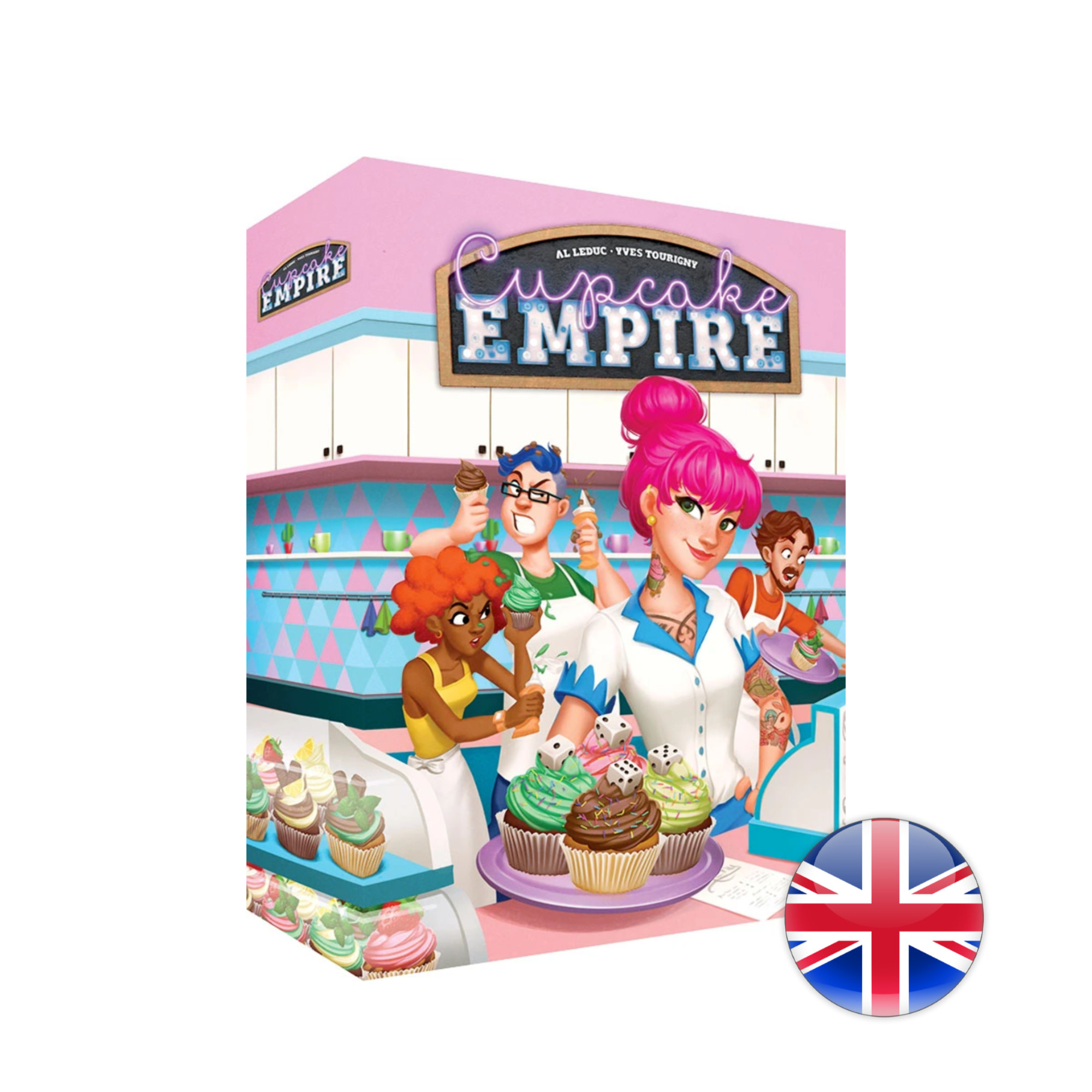 Lucky Duck Games Cupcake Empire