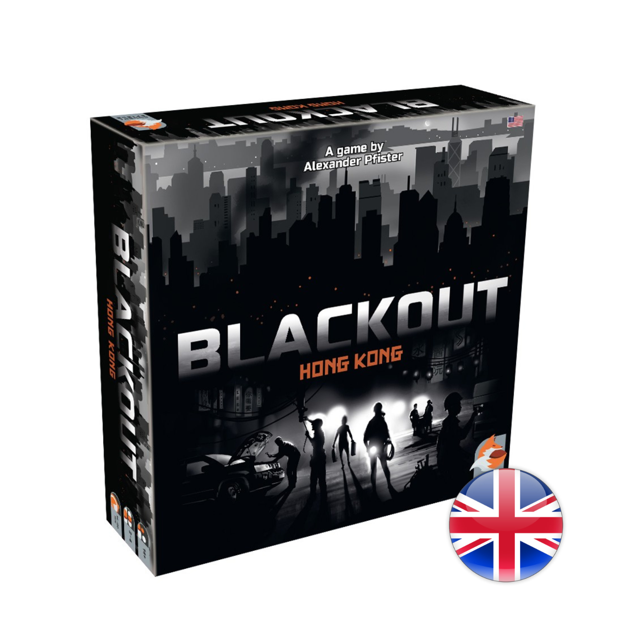 Eggertspiele Blackout: Hong Kong