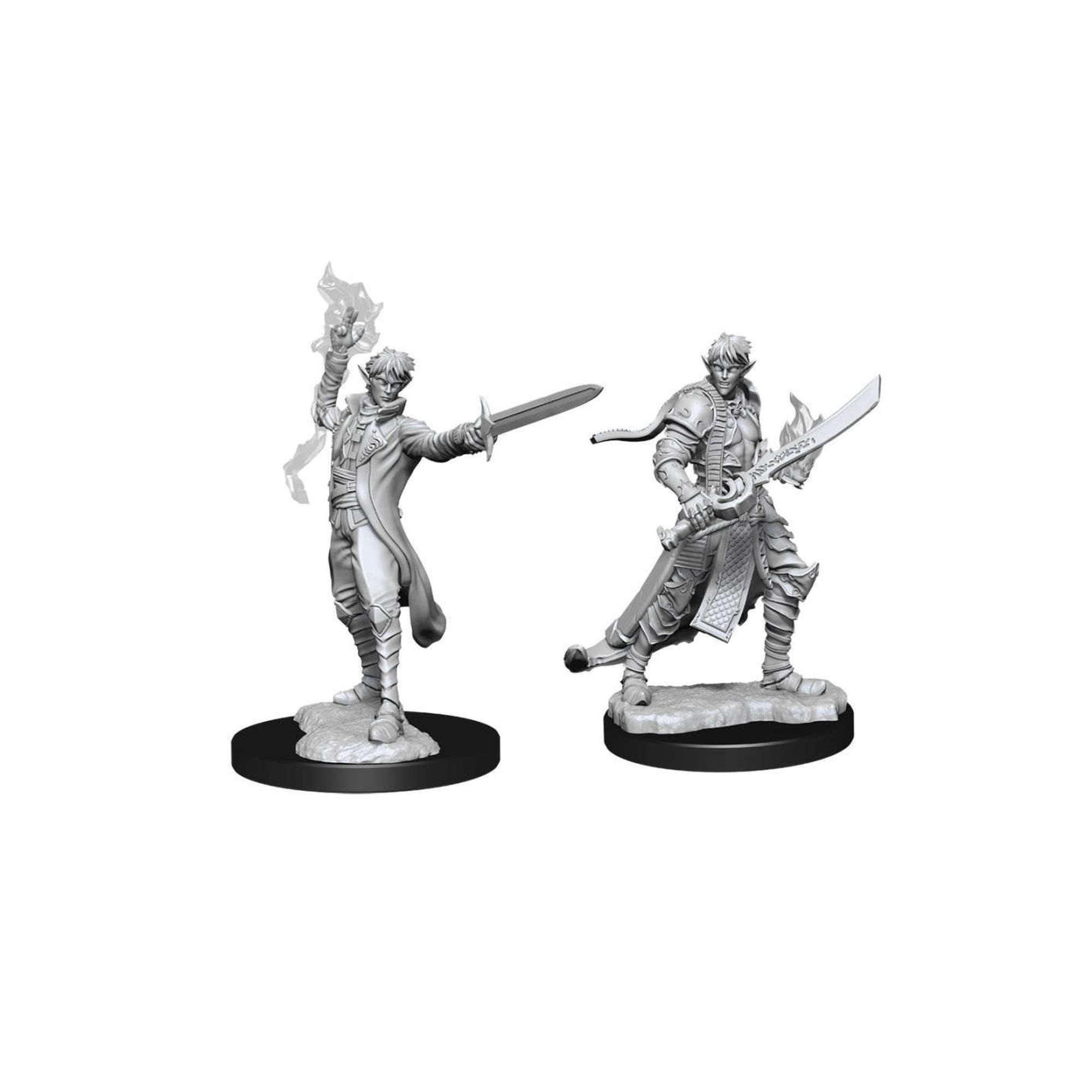 Wizkids Games Pathfinder Unpainted Minis WV11 Male Elf Magus