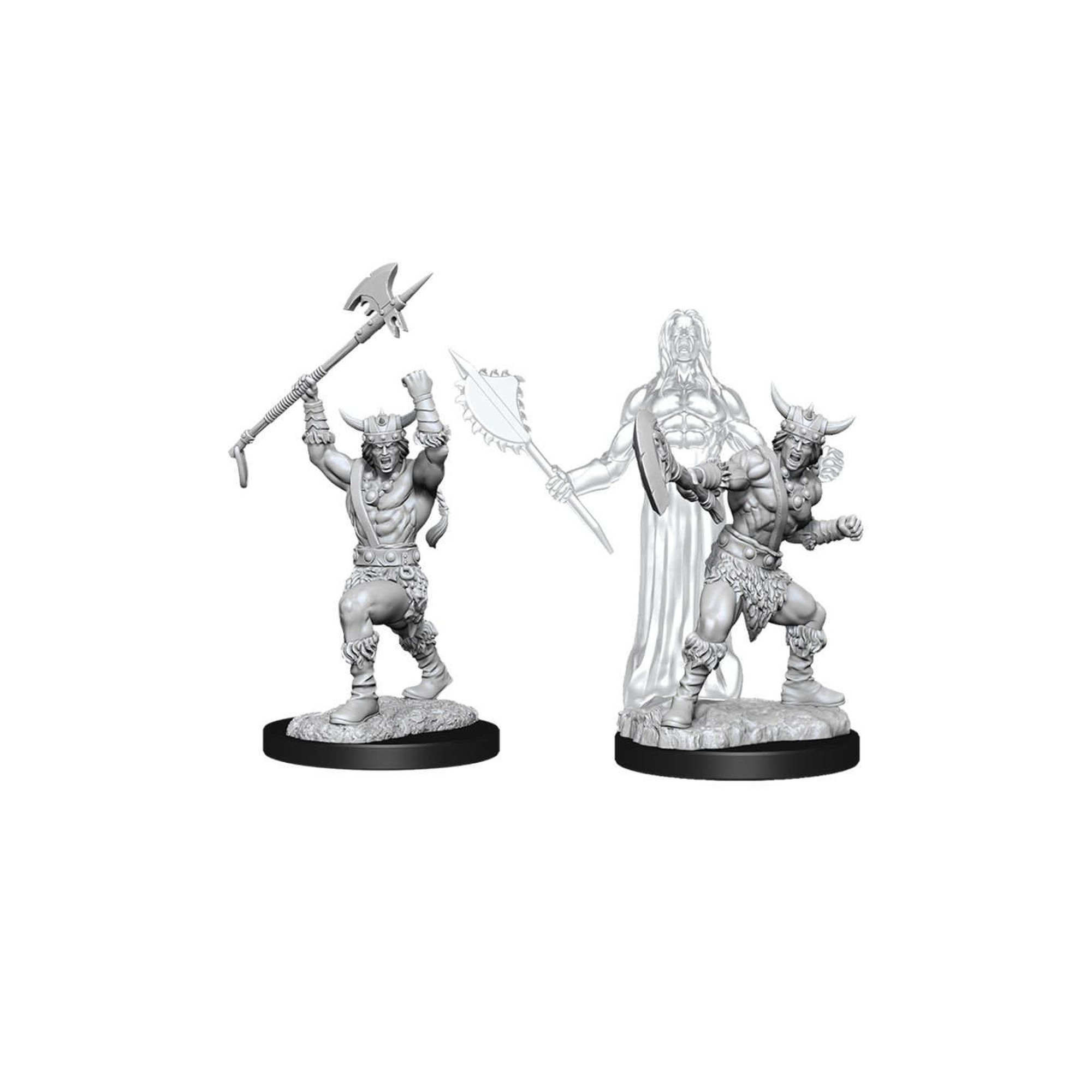 Wizkids Games DnD Unpainted Minis WV11 Male Human Barbarian
