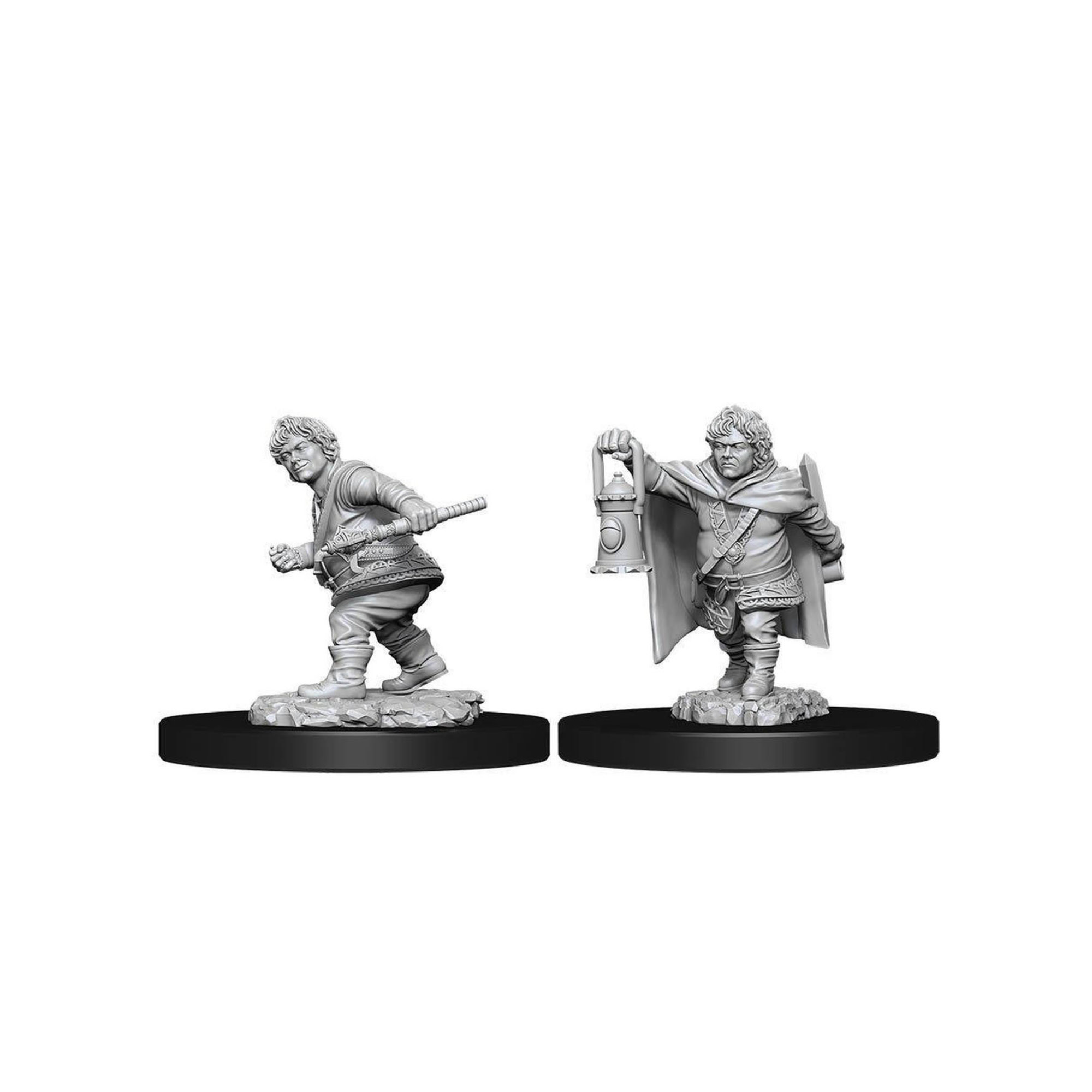 Wizkids Games DnD Unpainted Minis WV11 Male Halfling Rogue