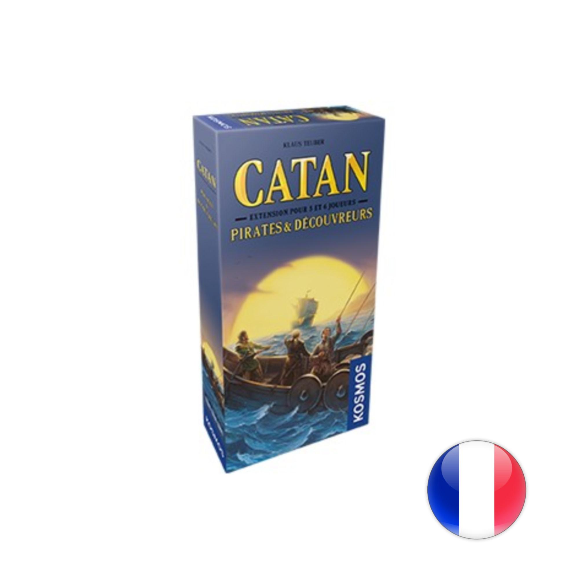Catan Studios Catan - Ext. Pirates et découvreurs - 5/6 joueurs