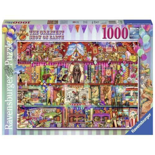 Ravensburger Puzzle 1000: Le plus grand spectacle sur terre