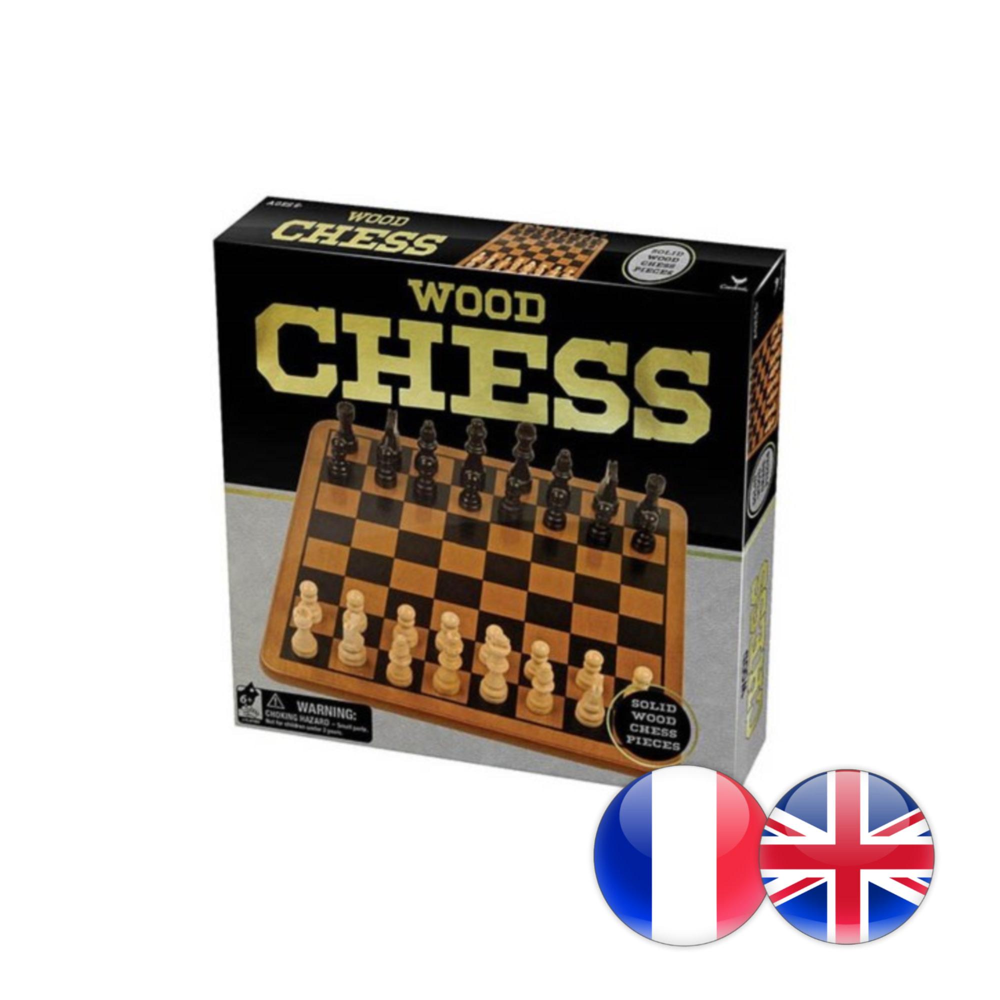 Cardinal Chess Set / Jeu d'échecs