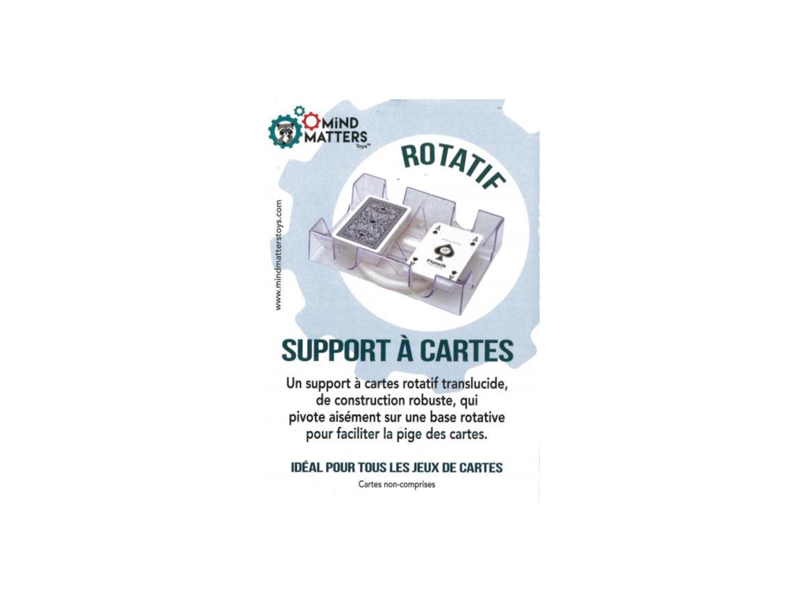 Autruche Support rotatif pour cartes