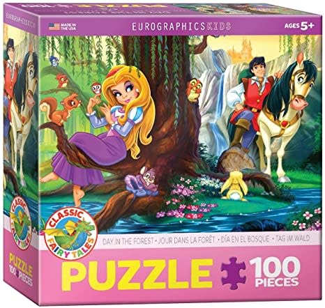 Eurographics Puzzle 100: Day in the Forest